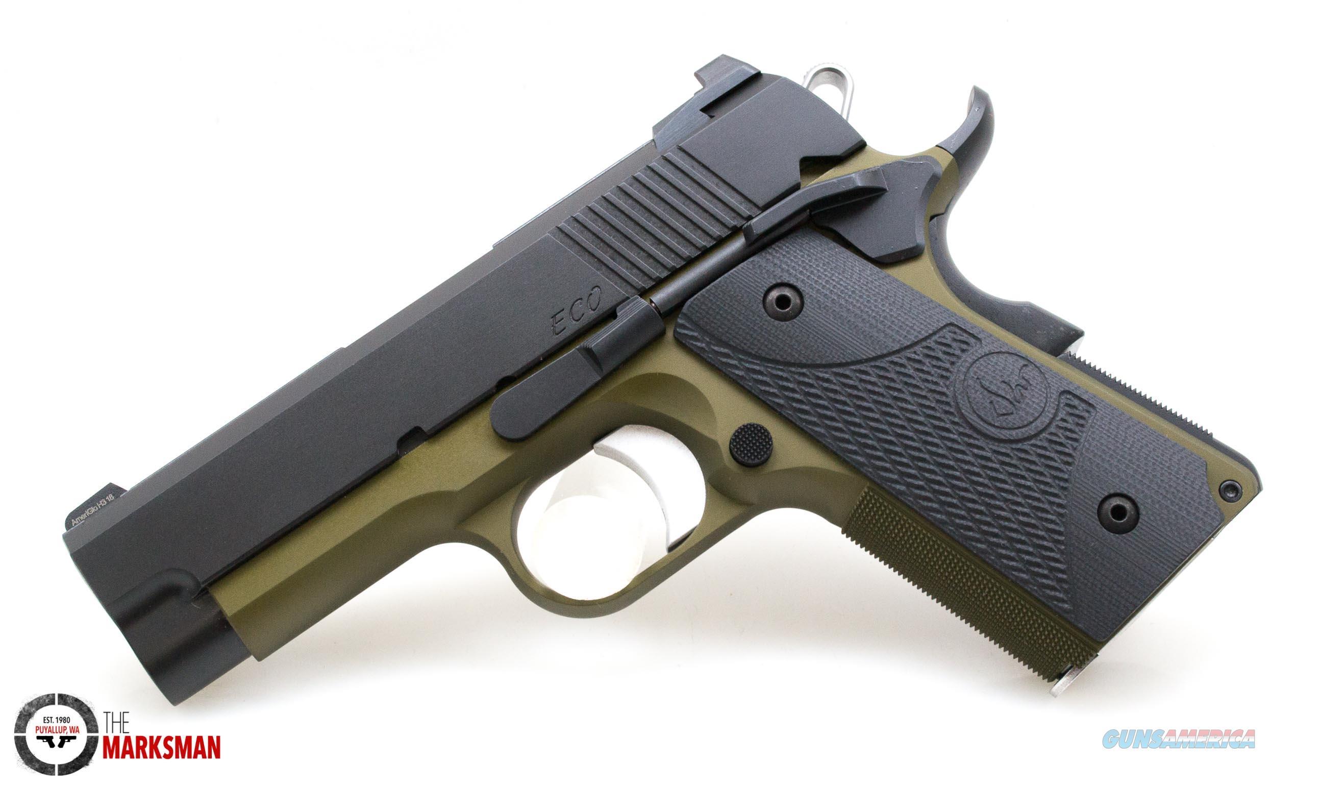 Dan Wesson ECO OD Green, .45 ACP NEW 01989  Guns > Pistols > Dan Wesson Pistols/Revolvers > 1911 Style
