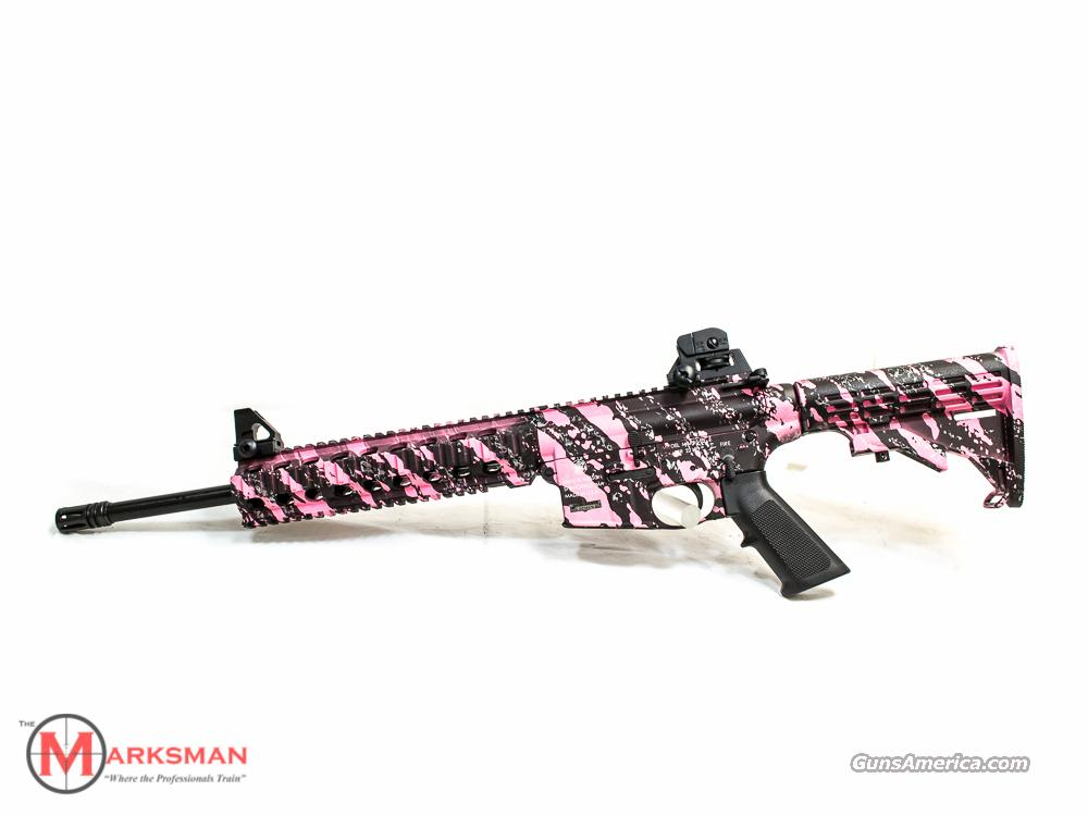 Smith and Wesson M&P 15-22 Pink Platinum .22 lr NEW  Guns > Rifles > Smith & Wesson Rifles > M&P