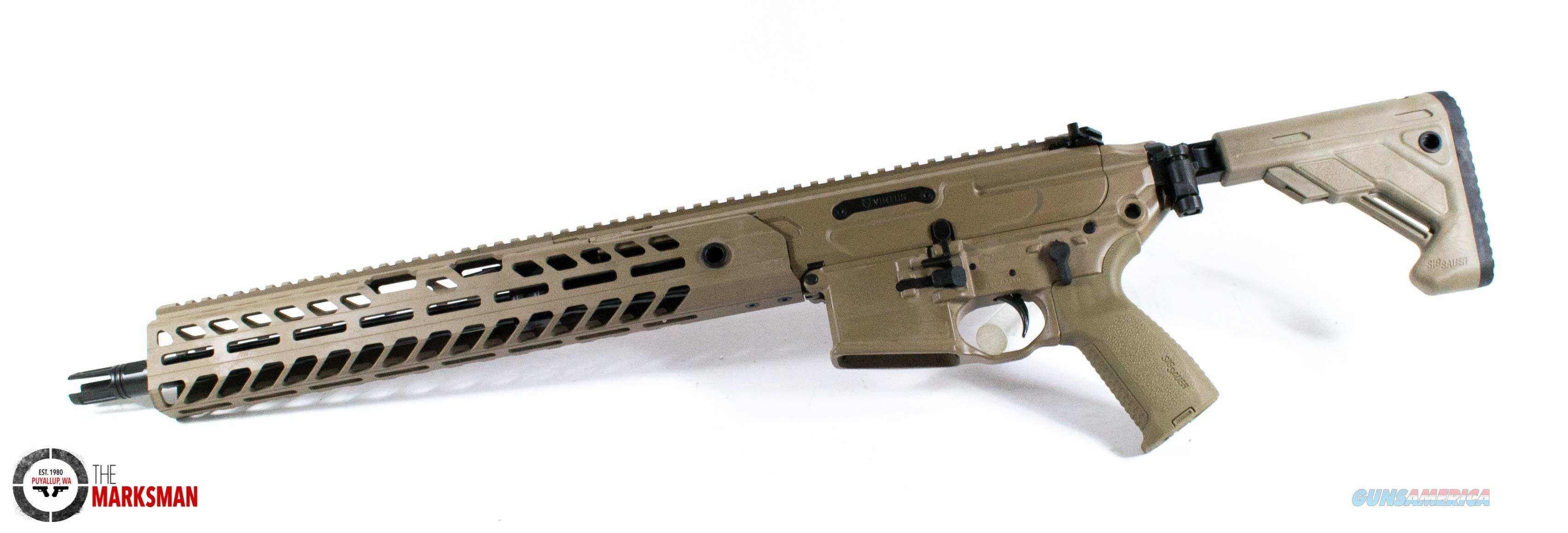Sig Sauer MCX Virtus Patrol, .300 Blackout, Flat Dark Earth NEW Free Shipping  Guns > Rifles > Sig - Sauer/Sigarms Rifles