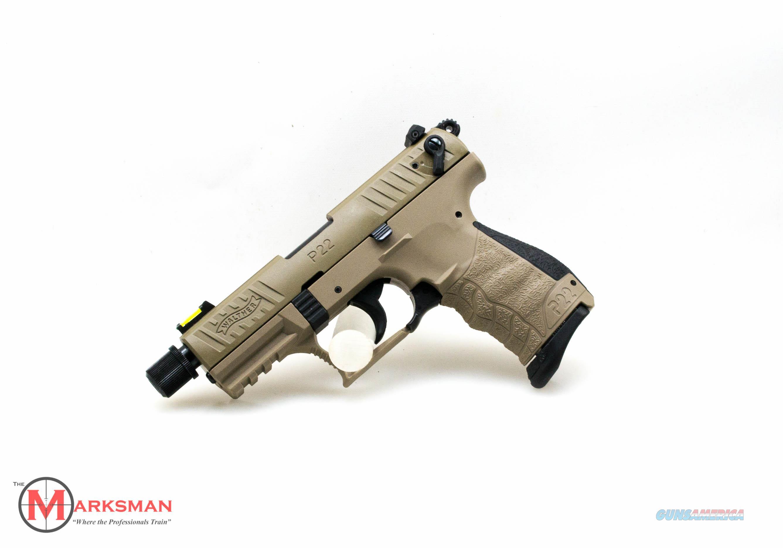 Walther P22 QD Tactical, .22 lr NEW Fiber Optic Front Sight  Guns > Pistols > Walther Pistols > Post WWII > P22