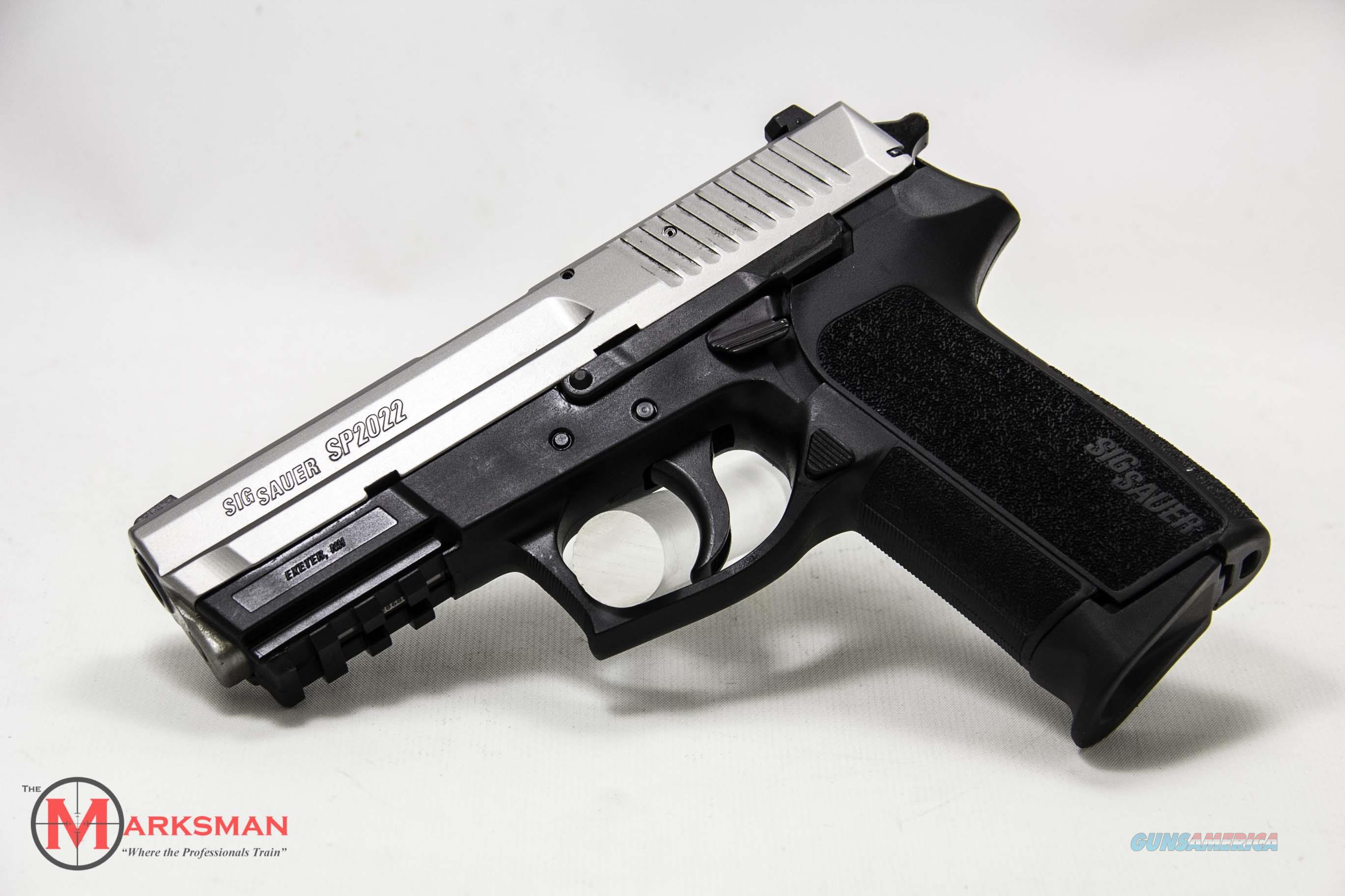 Sig Sauer Two Tone SP2022, 9mm, NEW Night Sights  Guns > Pistols > Sig - Sauer/Sigarms Pistols > 2022