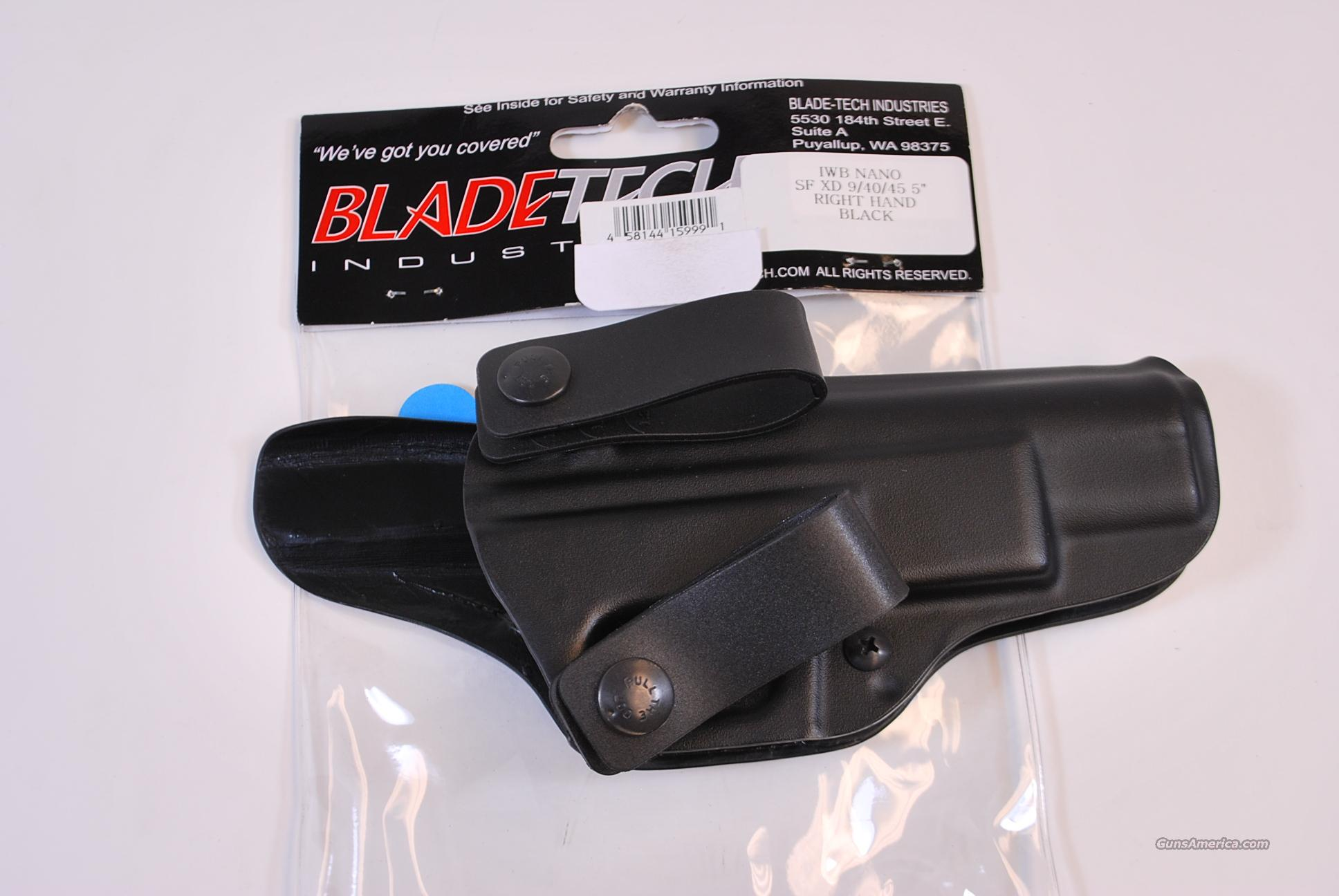 Blade Tech Inside the Waist Band Holster XD 9 40 45 NEW  Non-Guns > Holsters and Gunleather > Concealed Carry