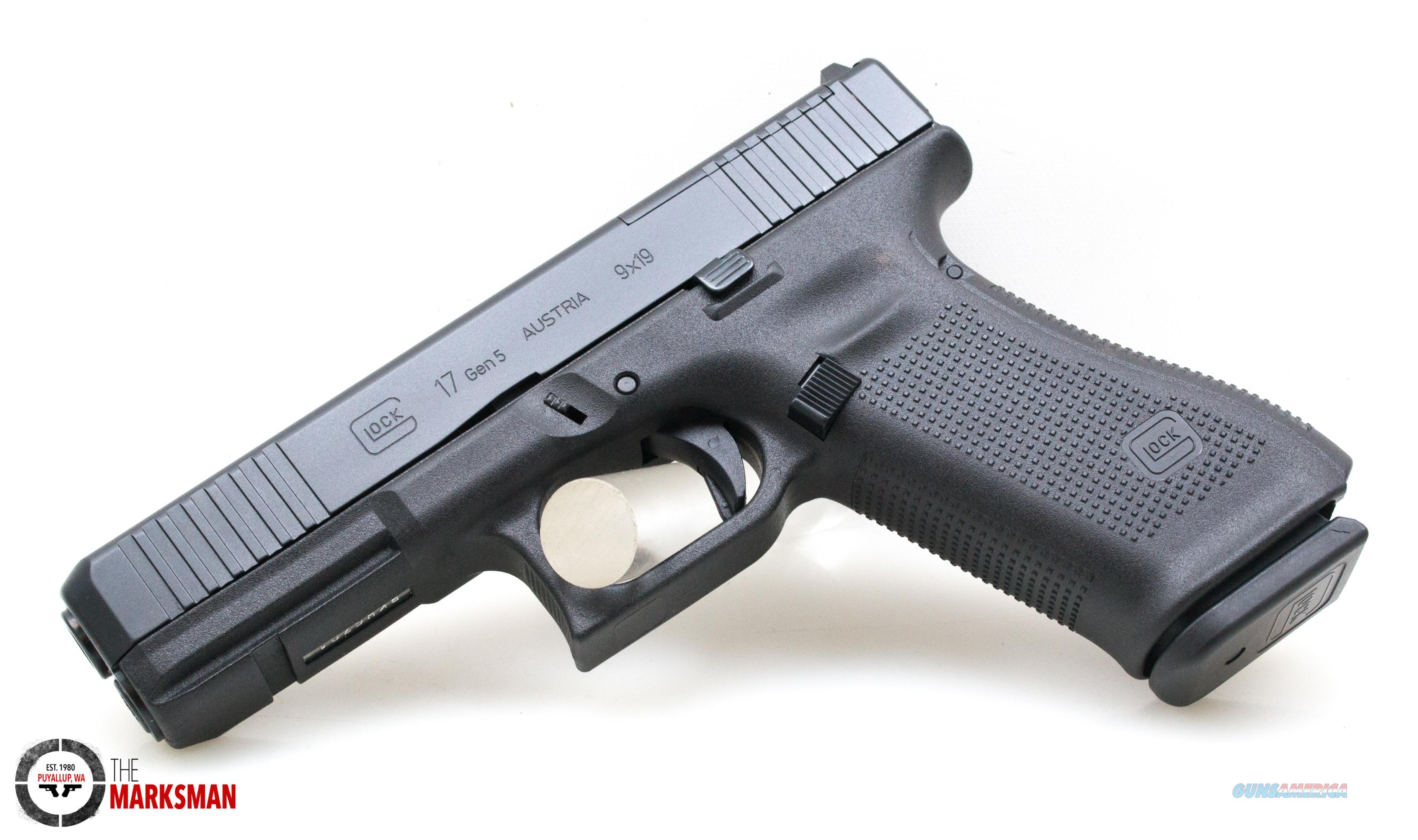 Glock 17 Generation 5 MOS, 9mm NEW PA175S203MOS  Guns > Pistols > Glock Pistols > 17