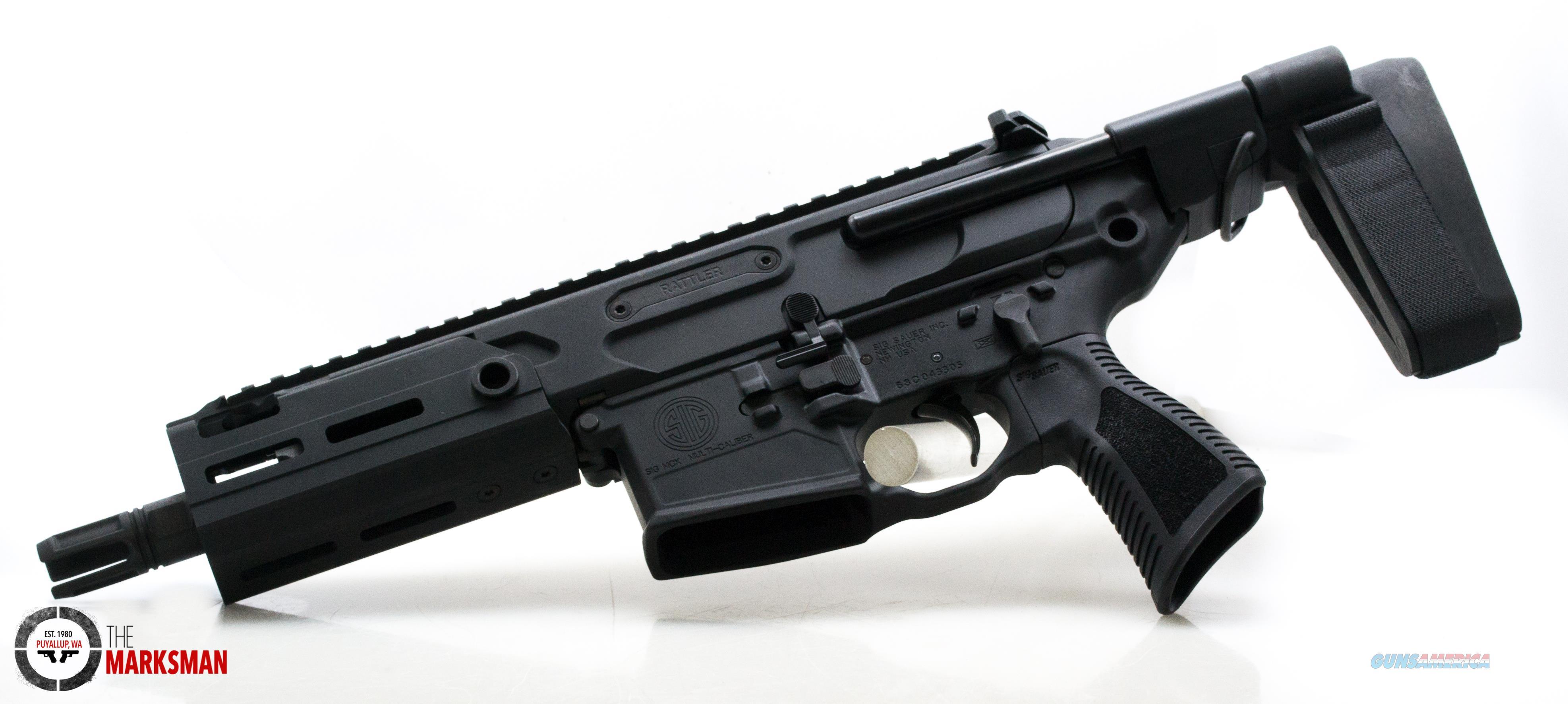 Sig Sauer MCX Rattler Pistol, .300 Blackout NEW Telescoping Pistol Brace, Free Shipping  Guns > Pistols > Sig - Sauer/Sigarms Pistols > Other