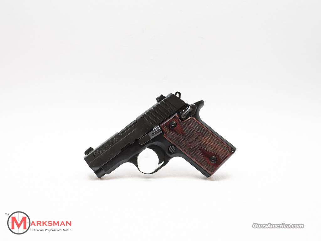 Sig Sauer 238 with Rosewood Grips 380 ACP 1911  Guns > Pistols > Sig - Sauer/Sigarms Pistols > 1911