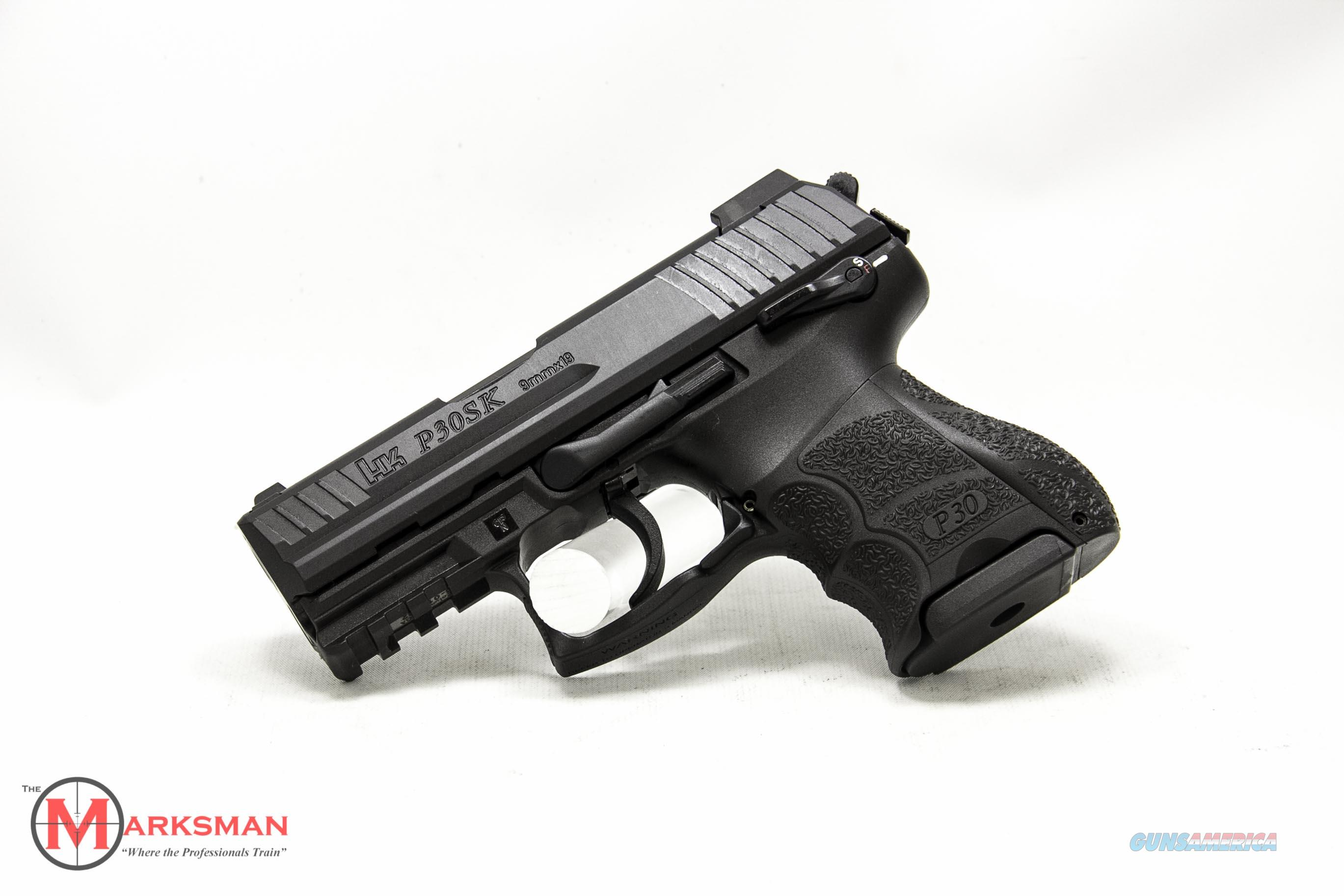 Heckler and Koch P30SKS Variant 3 9mm NEW Tritium Night Sights and Three Magazines  Guns > Pistols > Heckler & Koch Pistols > Polymer Frame