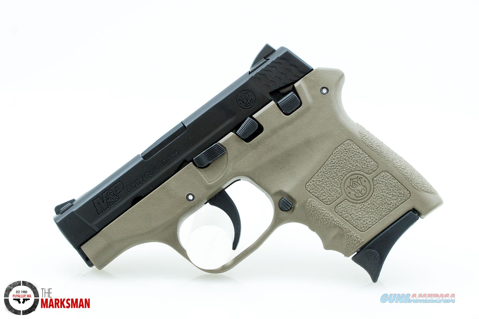 Smith and Wesson M&P Bodyguard 380, .380 ACP NEW Flat Dark Earth   Guns > Pistols > Smith & Wesson Pistols - Autos > Polymer Frame