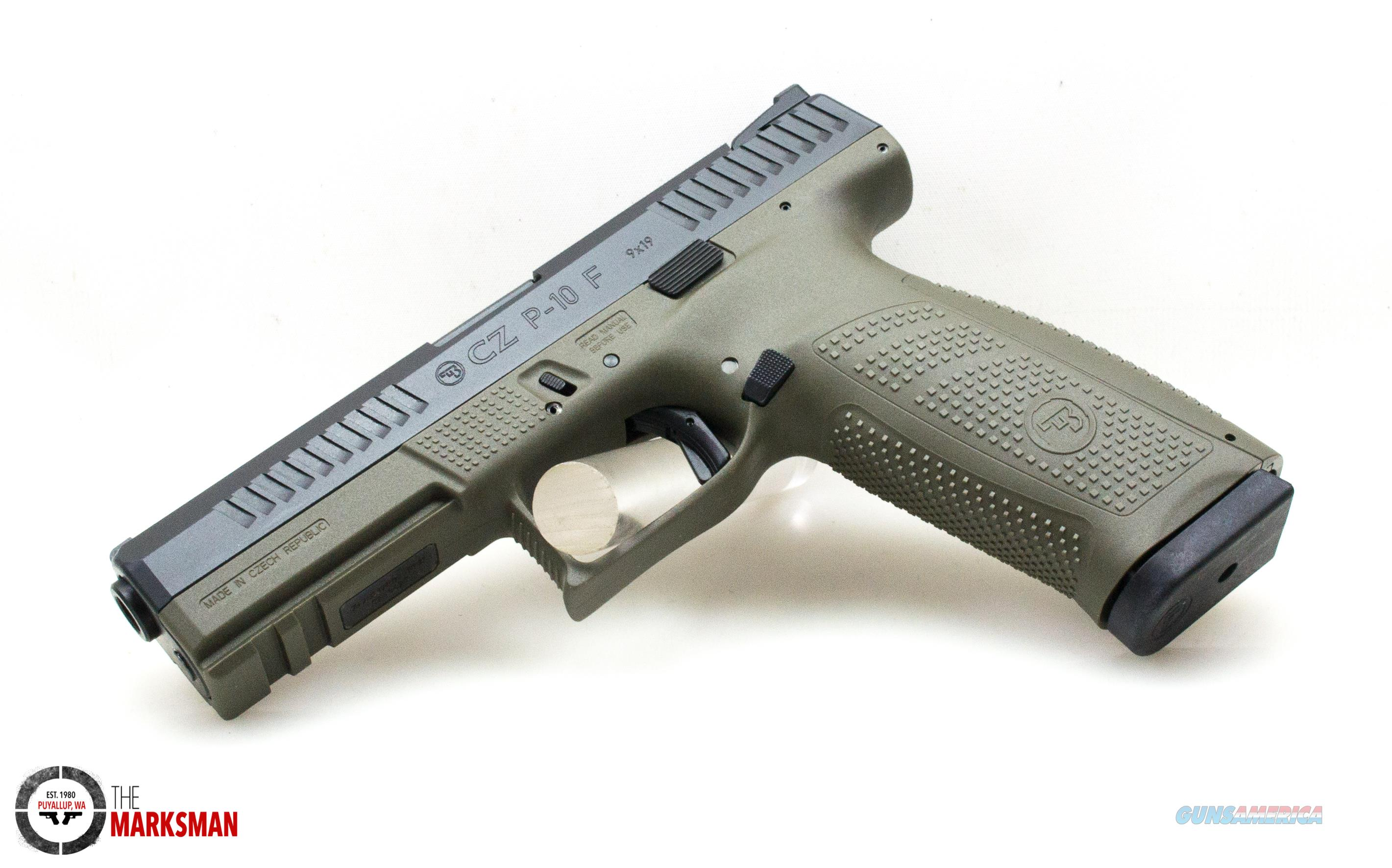 CZ P-10 Full Size, 9mm, OD Green NEW 91545  Guns > Pistols > CZ Pistols