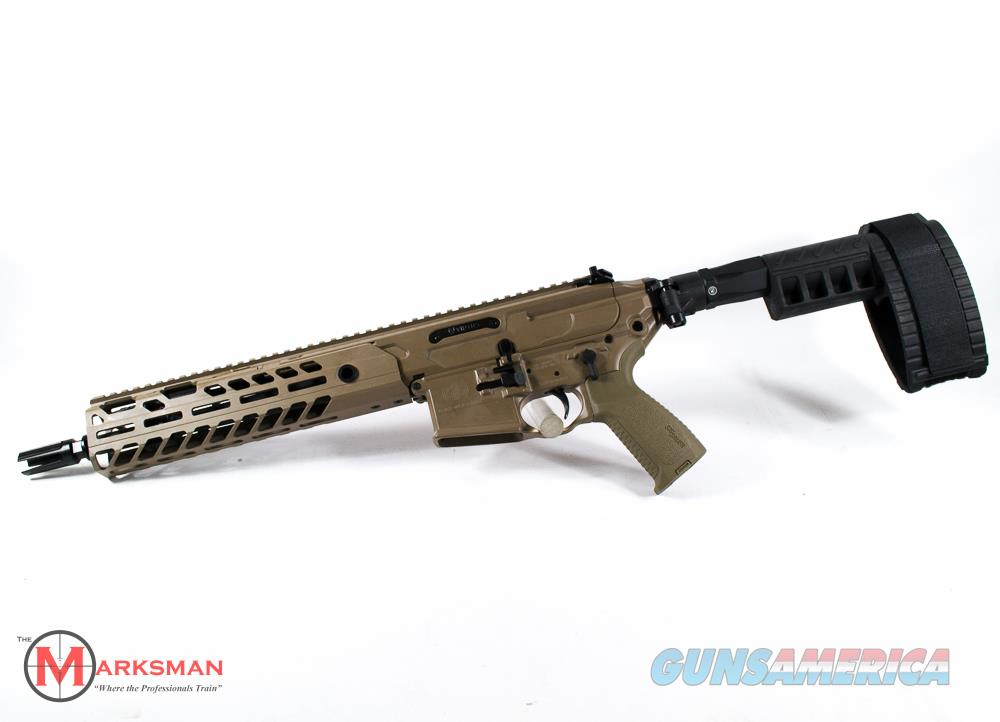 Sig Sauer MCX Virtus Pistol 5.56mm NATO NEW Flat Dark Earth, Free Shipping  Guns > Pistols > Sig - Sauer/Sigarms Pistols > Other