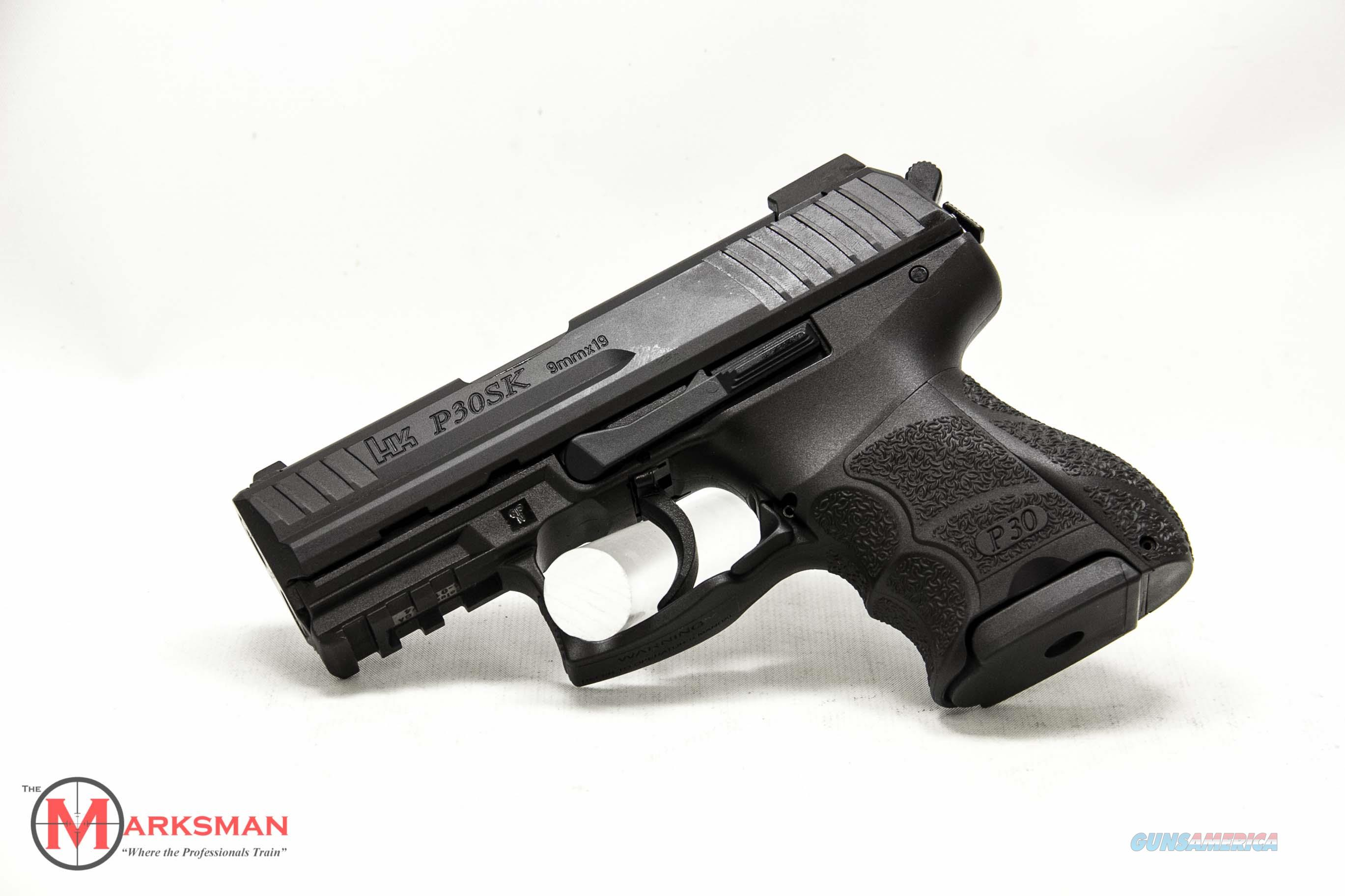 Heckler and Koch P30SK, Variant 3, 9mm NEW Night Sights and Three Magazines  Guns > Pistols > Heckler & Koch Pistols > Polymer Frame