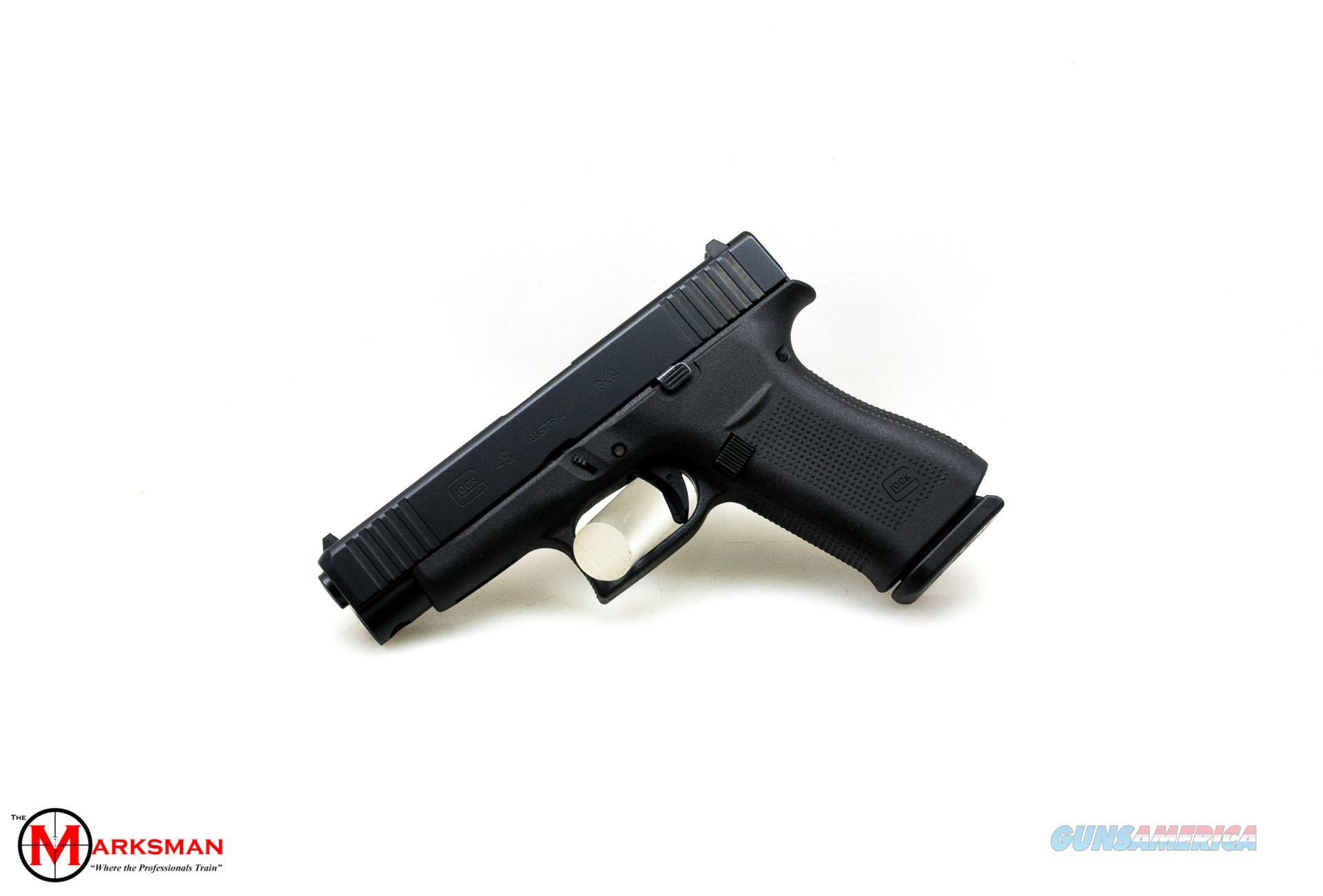 Glock 48, 9mm NEW Black Slide Finish  Guns > Pistols > Glock Pistols > 48