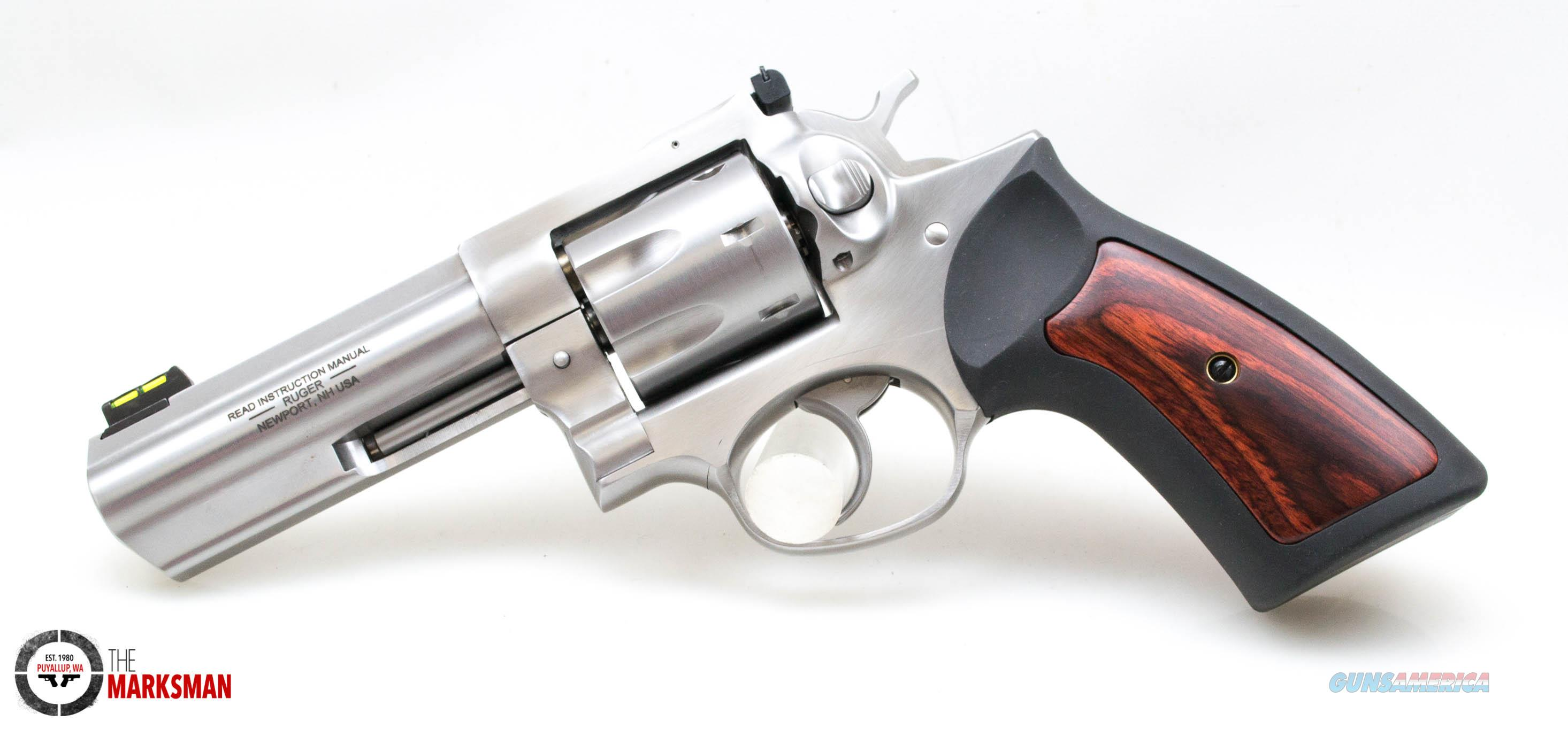 Ruger Stainless GP100, .357 Magnum/.38 Special NEW 7 Shot  Guns > Pistols > Ruger Double Action Revolver > GP100