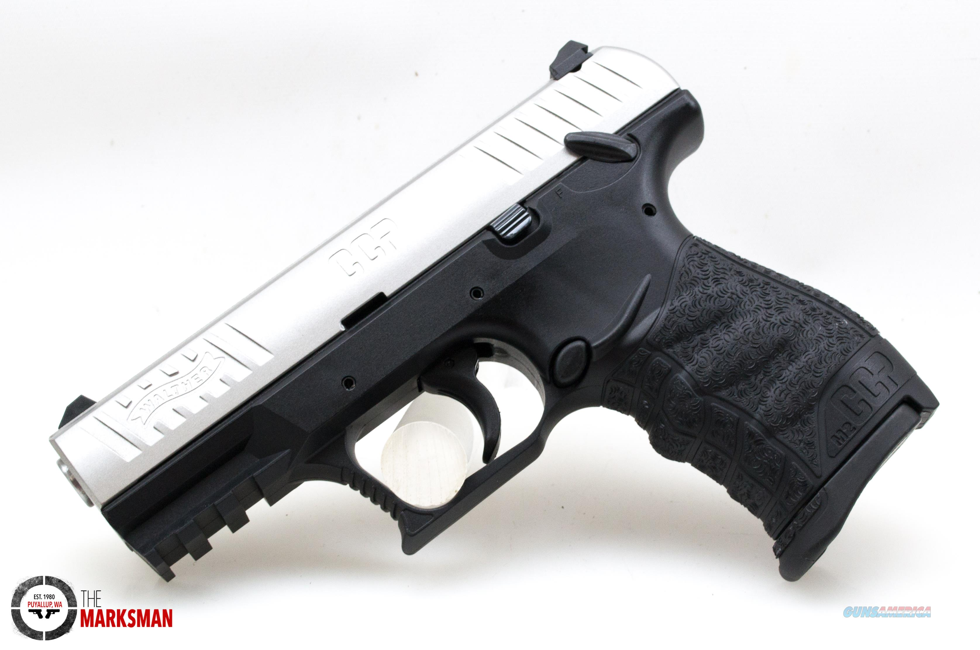 Walther CCP M2, 9mm, Stainless NEW 5080501  Guns > Pistols > Walther Pistols > Post WWII > CCP