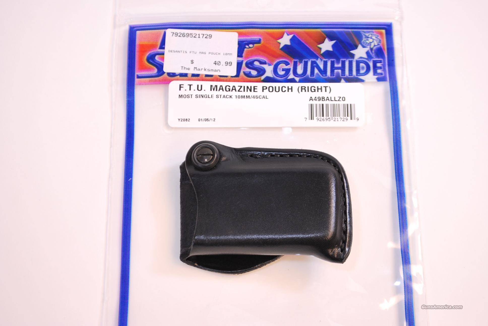 DeSantis F.T.U. Magazine Pouch Glock NEW  Non-Guns > Holsters and Gunleather > Concealed Carry