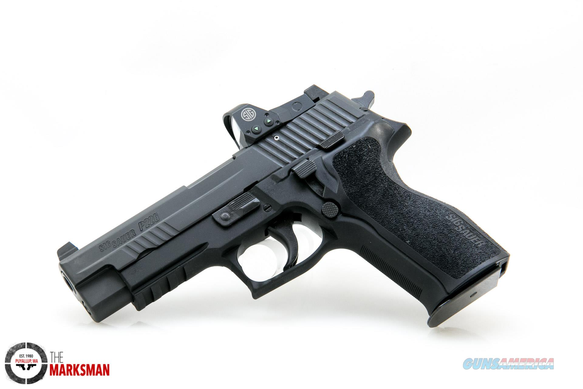 Sig Sauer P226 RX, 9mm NEW ROMEO1 Red Dot Sight  Guns > Pistols > Sig - Sauer/Sigarms Pistols > P226