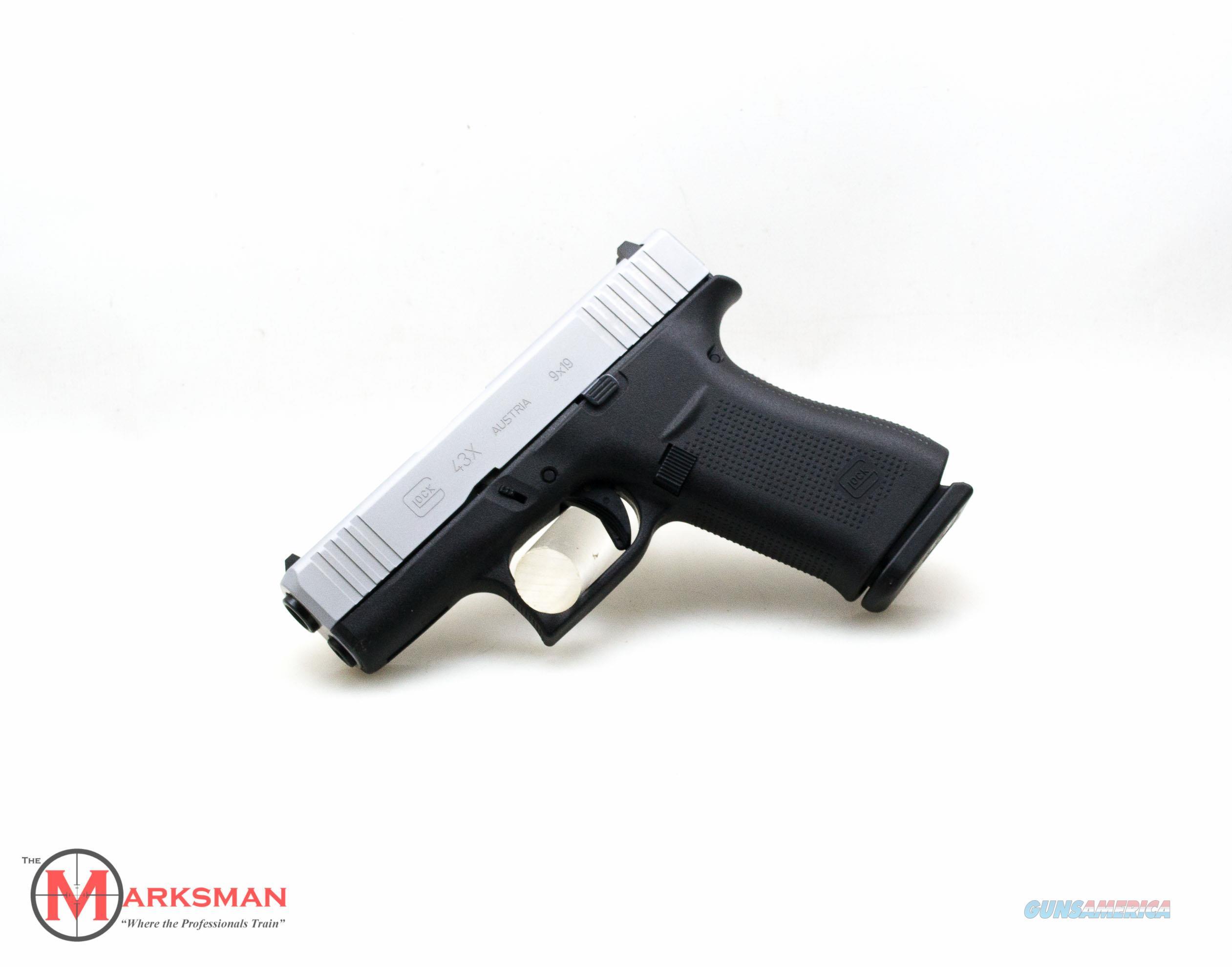 Glock 43X 9mm NEW PX435SL201  Guns > Pistols > Glock Pistols > 43/43X