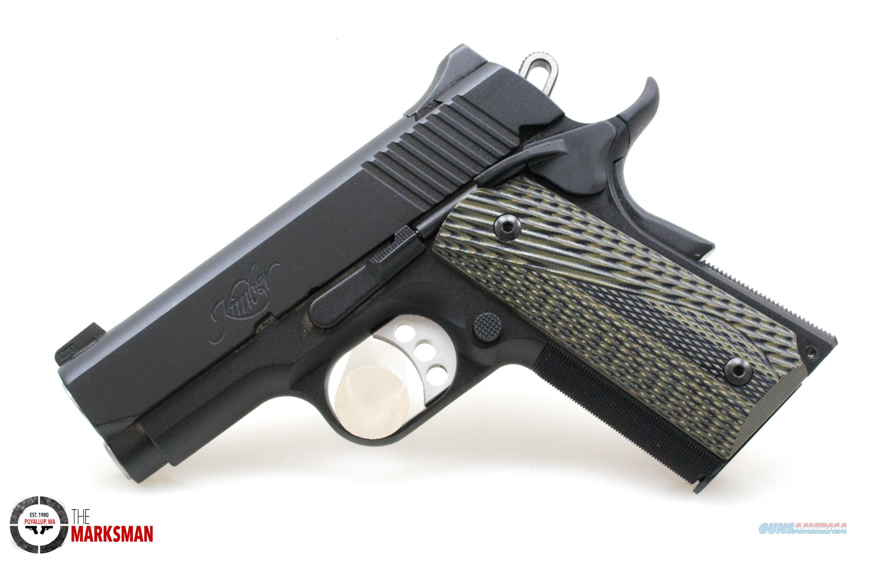 Kimber Ultra TLE II .45 ACP NEW Night Sights  Guns > Pistols > Kimber of America Pistols > 1911