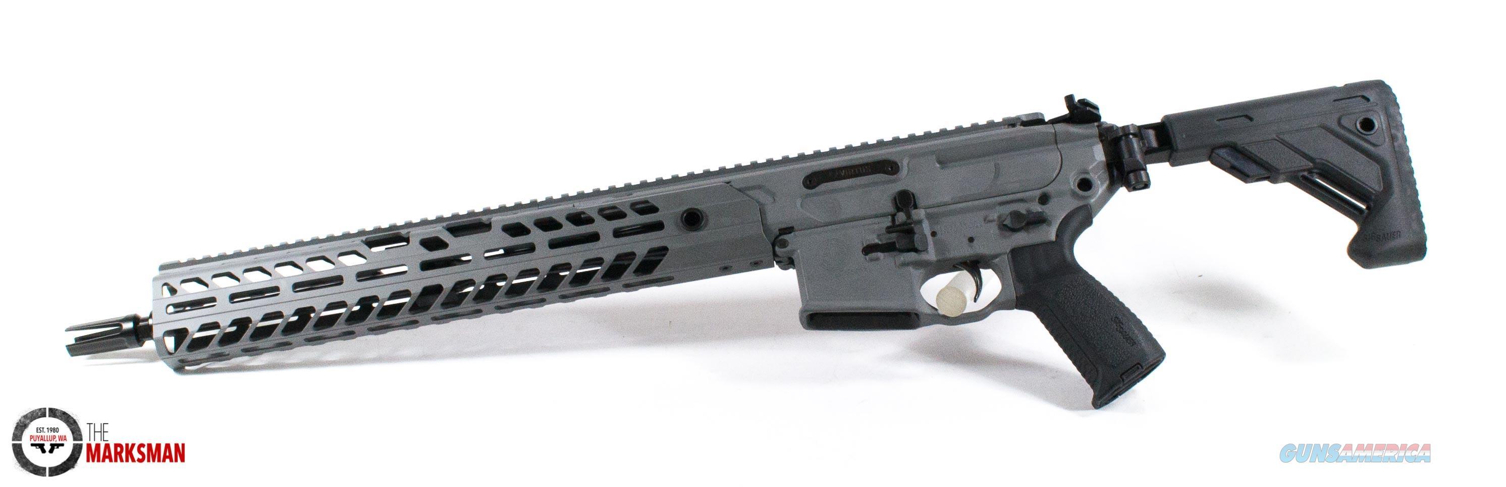 Sig Sauer MCX Virtus Patrol, 5.56mm NATO NEW Stealth Gray, Free Shipping  Guns > Rifles > Sig - Sauer/Sigarms Rifles