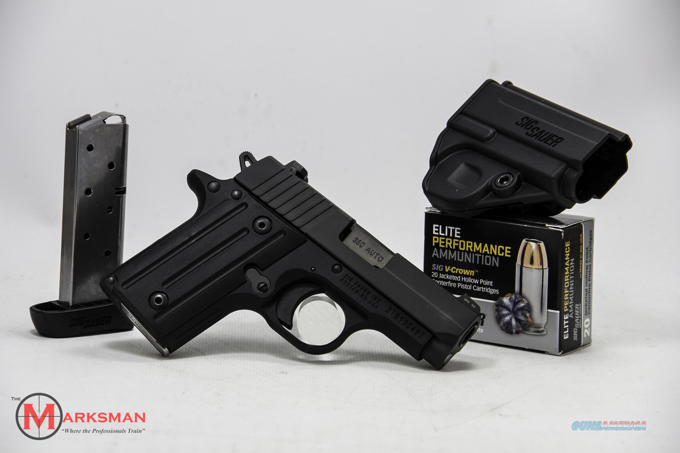 Sig Sauer P238 .380 ACP NEW Night Sights, Package with Extra Mag and Ammo  Guns > Pistols > Sig - Sauer/Sigarms Pistols > P238
