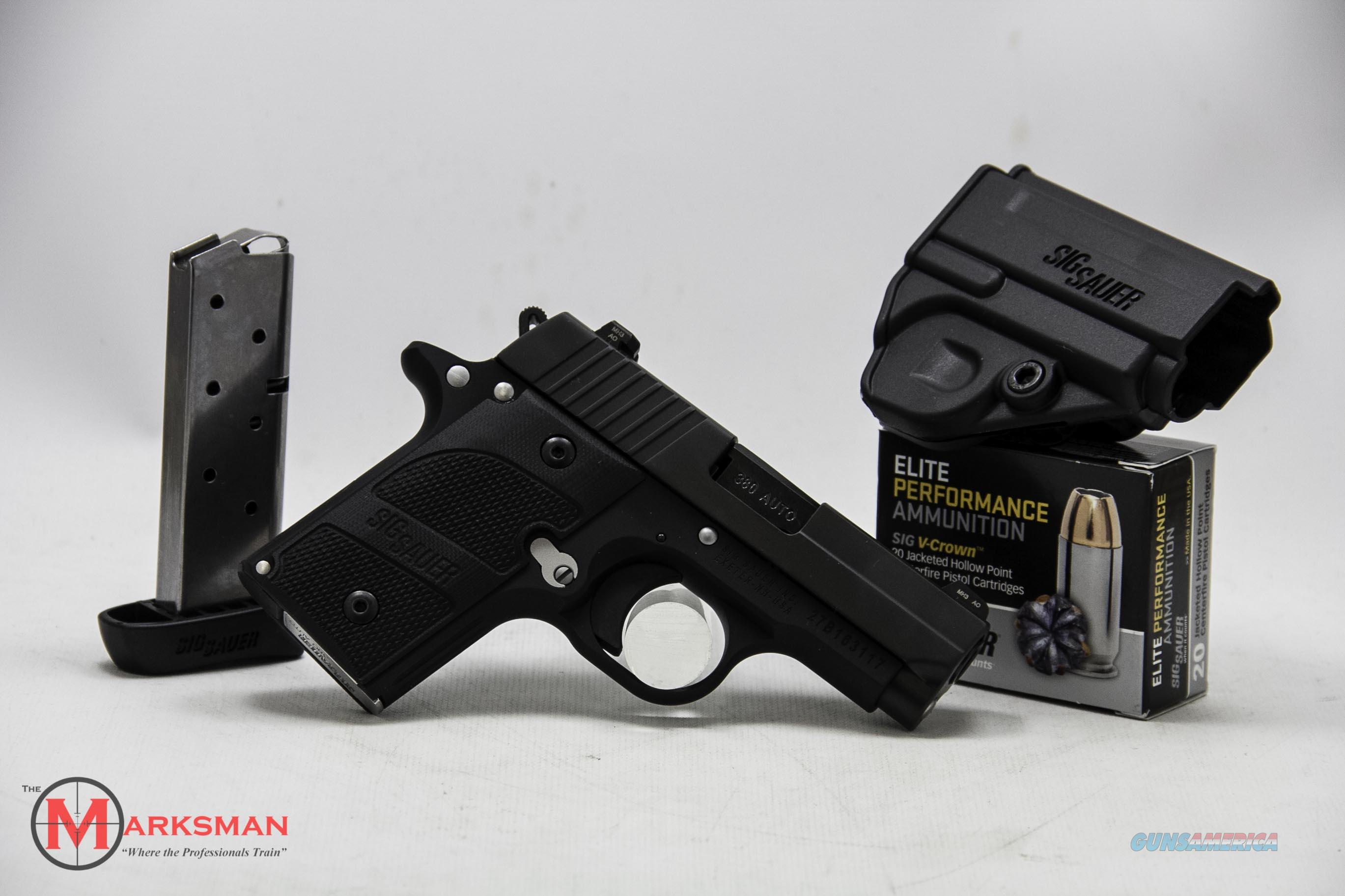 Sig Sauer P238 Nightmare .380 ACP NEW Package with Extra Mag and Ammo  Guns > Pistols > Sig - Sauer/Sigarms Pistols > P238