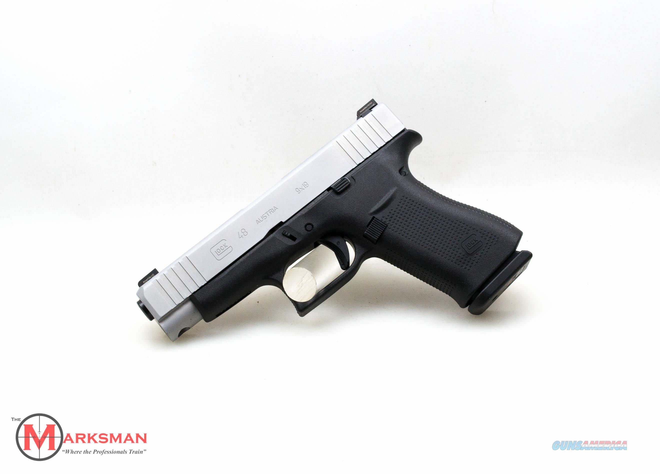 Glock 48, 9mm, Ameriglo Bold Tritium Sights NEW  Guns > Pistols > Glock Pistols > 43