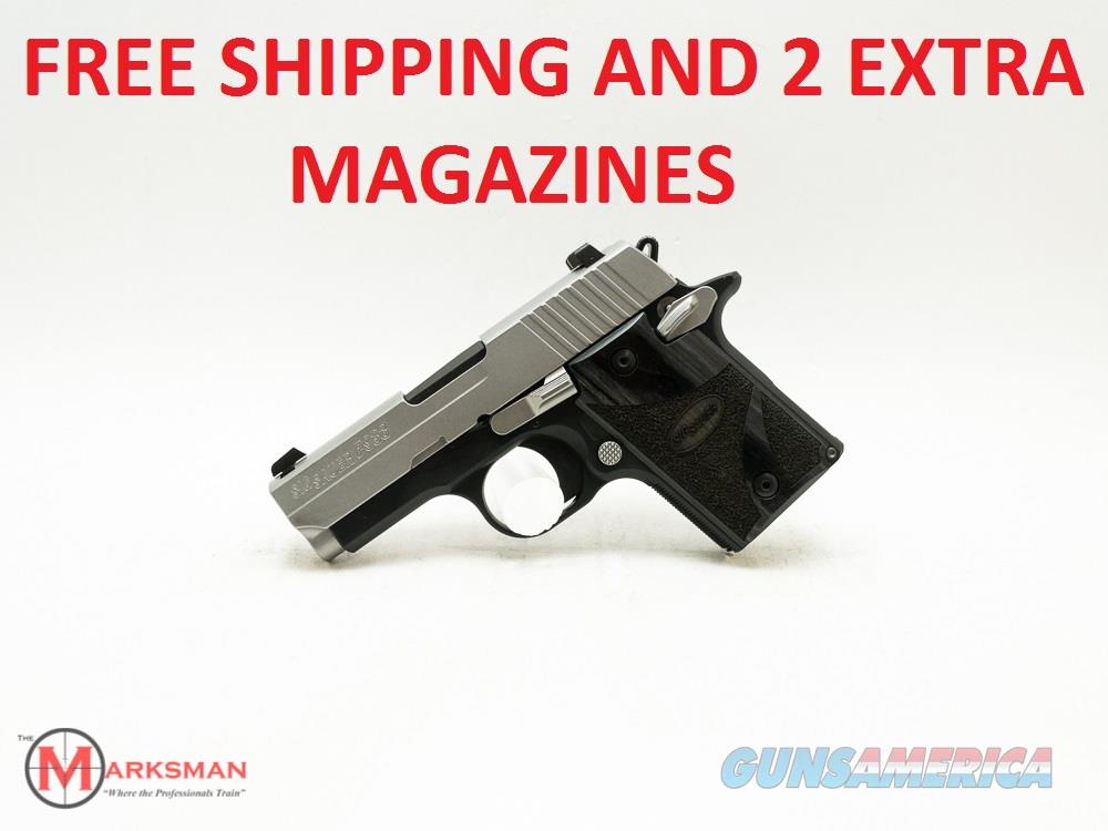 Sig Sauer P938 Blackwood, 9mm NEW Free Shipping and Two Extra Magazines  Guns > Pistols > Sig - Sauer/Sigarms Pistols > P938