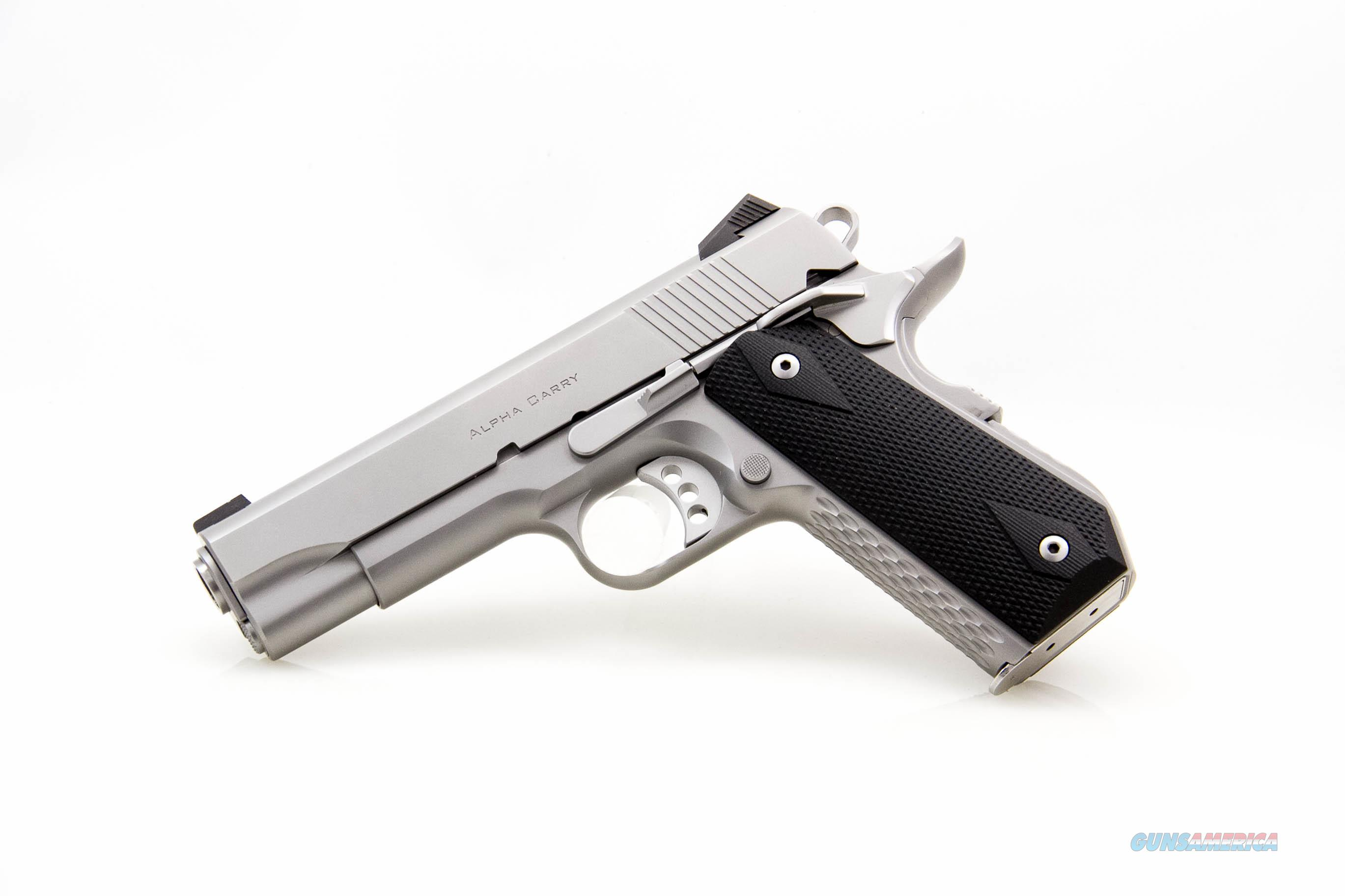 Ed Brown Alpha Carry .45 ACP NEW Stainless  Guns > Pistols > Ed Brown Pistols