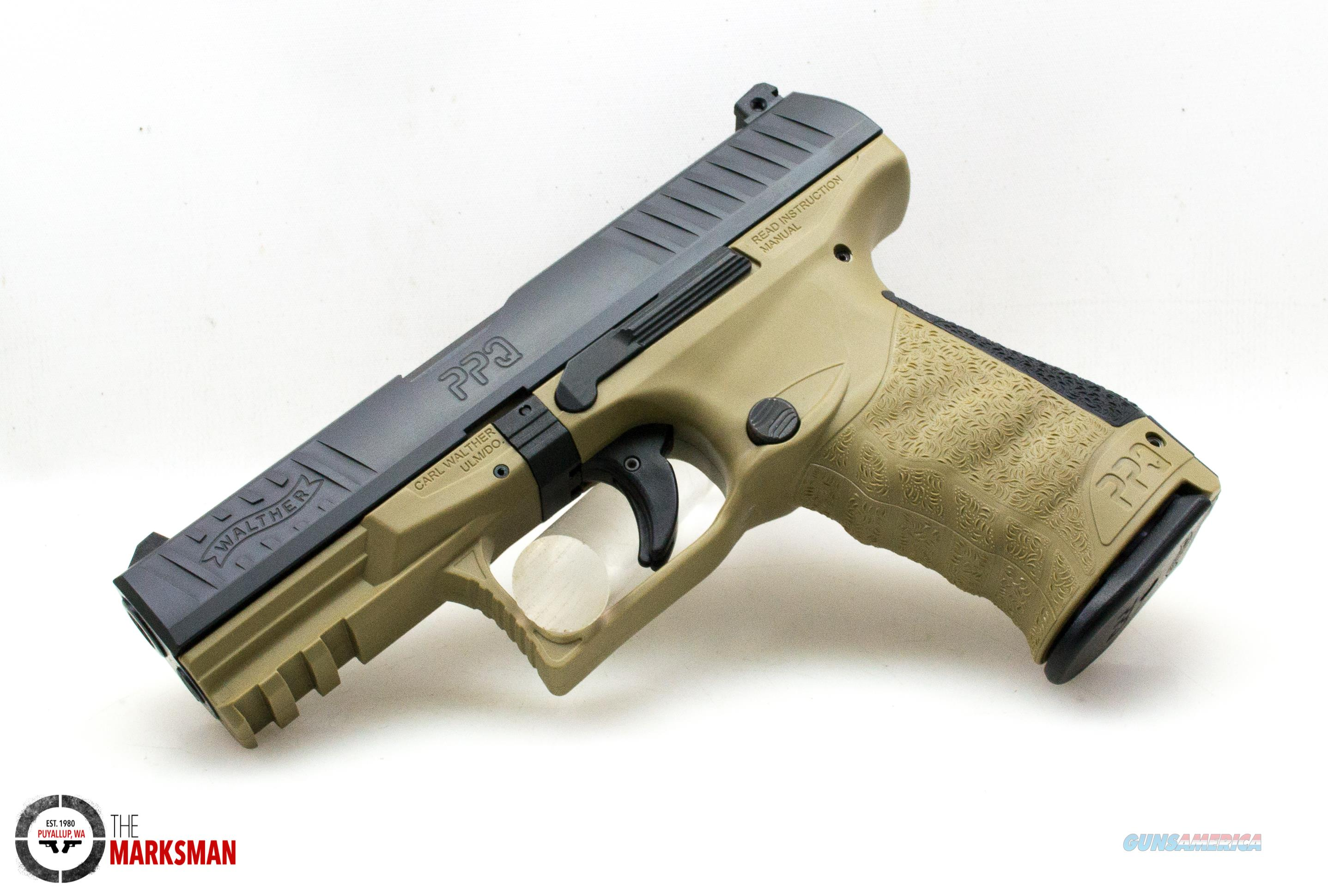 Walther PPQ M2, 9mm, Flat Dark Earth NEW 2830833  Guns > Pistols > Walther Pistols > Post WWII > P99/PPQ