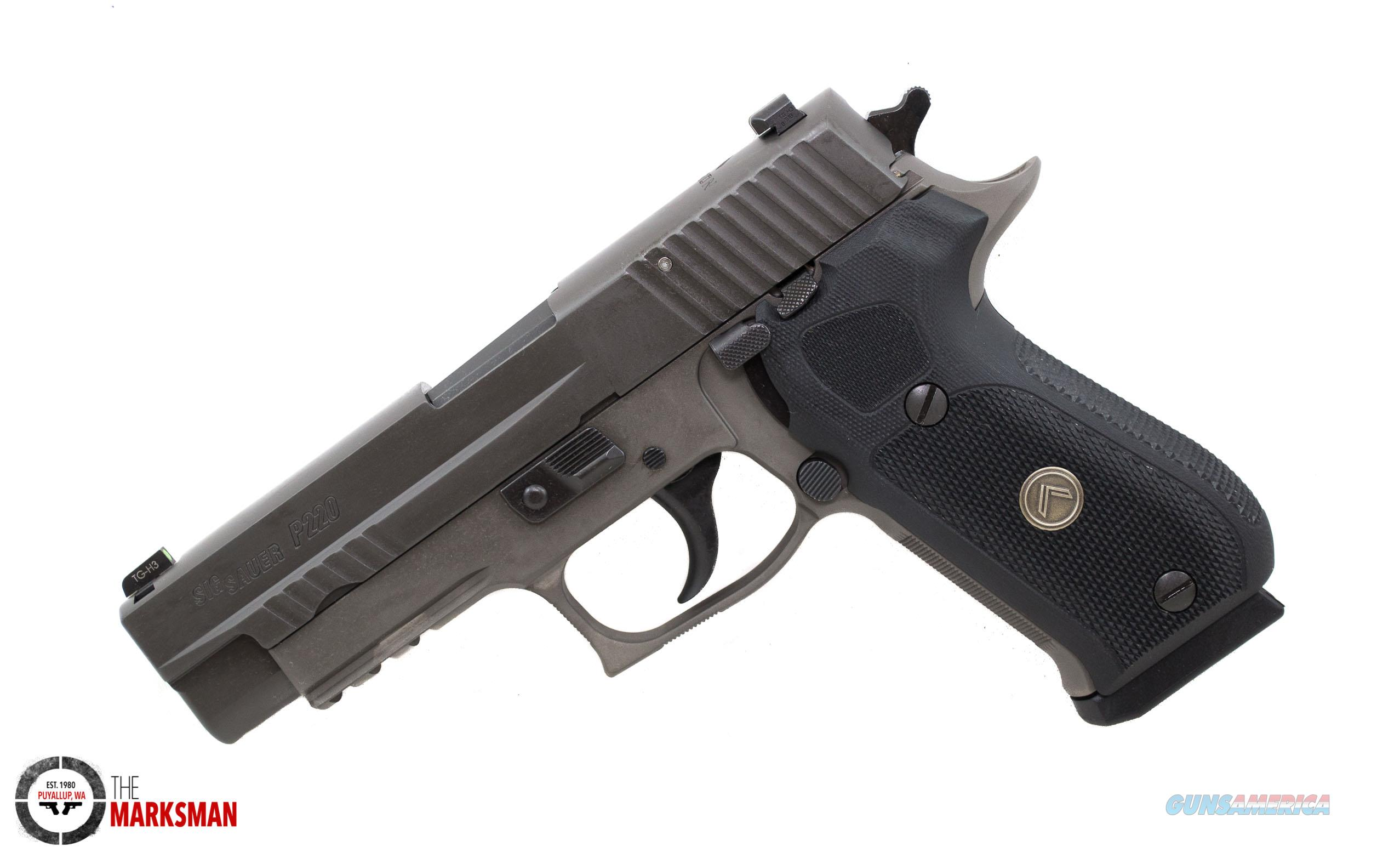 Sig Sauer P220 Legion, .45 ACP NEW Free Shipping  Guns > Pistols > Sig - Sauer/Sigarms Pistols > P220