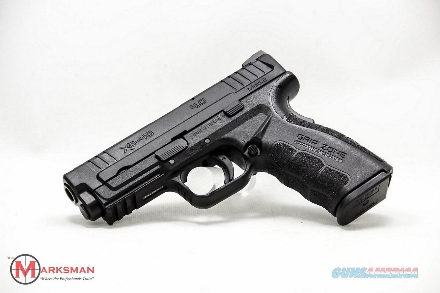 Springfield XD Mod 2, .40 S&W NEW   Guns > Pistols > Springfield Armory Pistols > XD-M