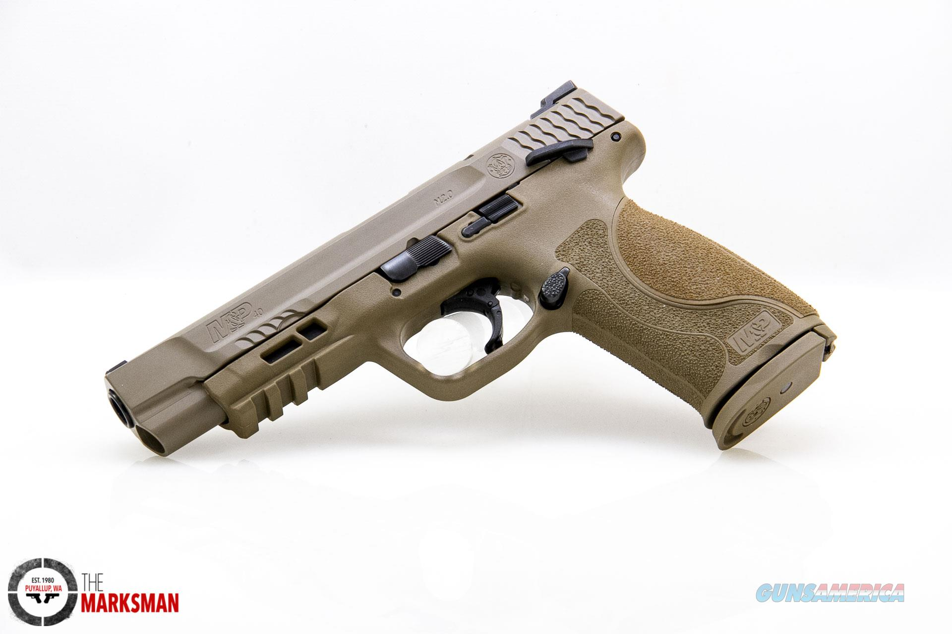 Smith and Wesson M&P40 M2.0 .40 S&W NEW Flat Dark Earth, Thumb Safety  Guns > Pistols > Smith & Wesson Pistols - Autos > Polymer Frame