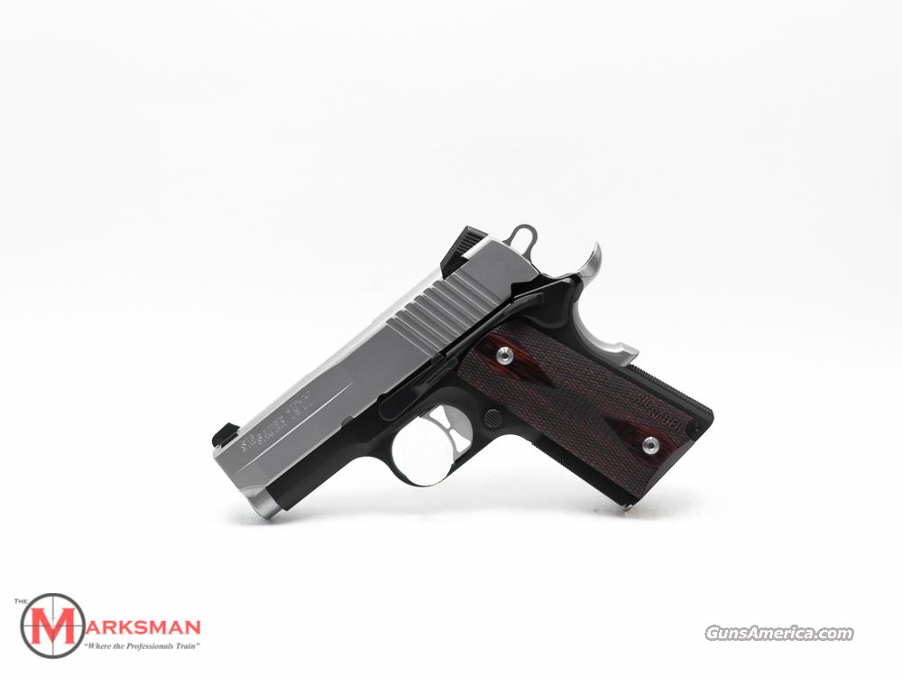 Sig Sauer 1911 Ultra Compact, .45 ACP, 3.25 inch barrel  Guns > Pistols > Sig - Sauer/Sigarms Pistols > 1911