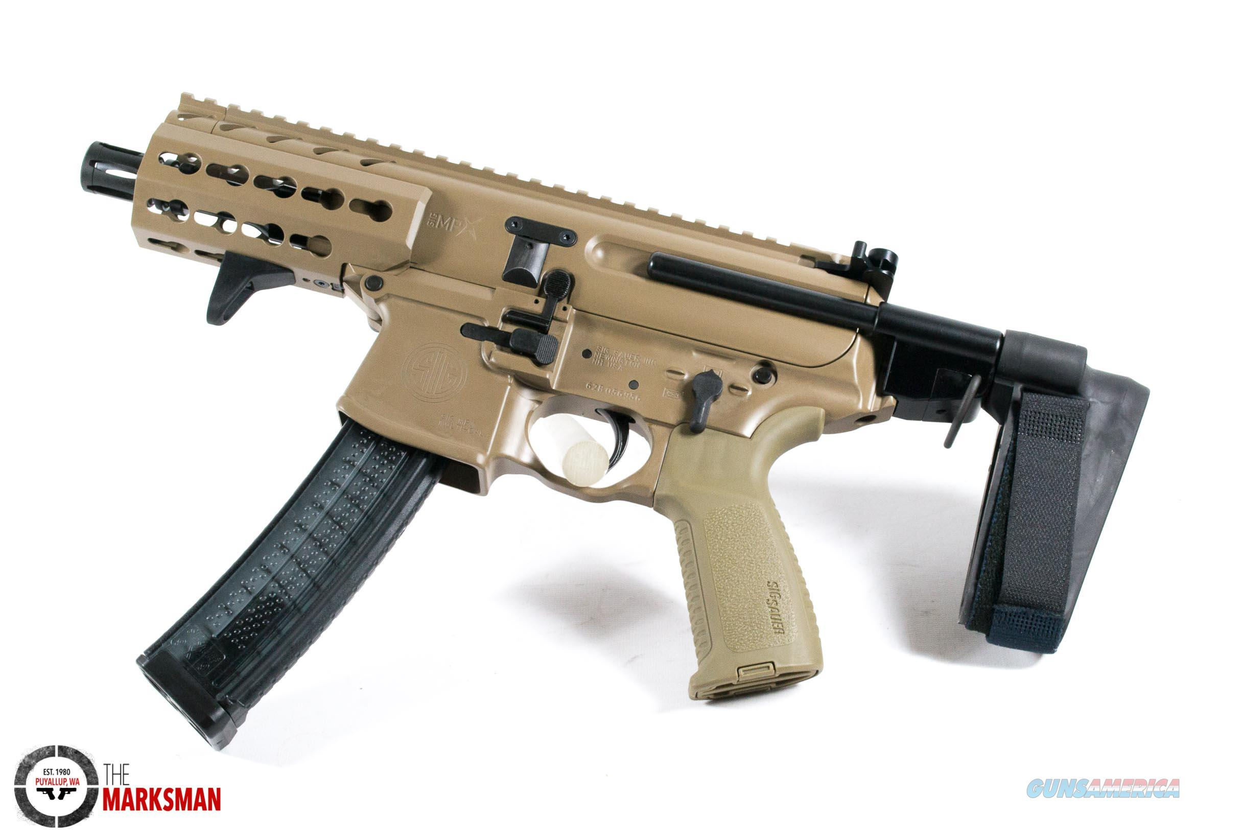 Sig Sauer Mpx K Psb 9mm Flat Dark Earth New F For Sale