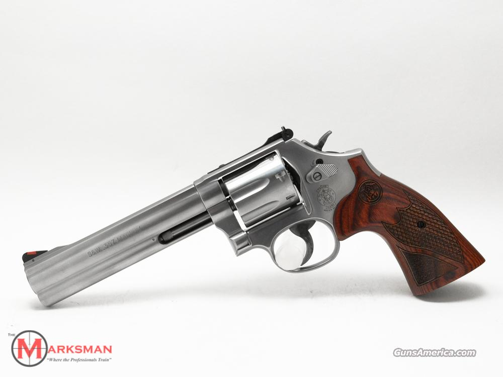"Smith and Wesson 686 Deluxe 6"" .357 Magnum NEW 357  Guns > Pistols > Smith & Wesson Revolvers > Full Frame Revolver"