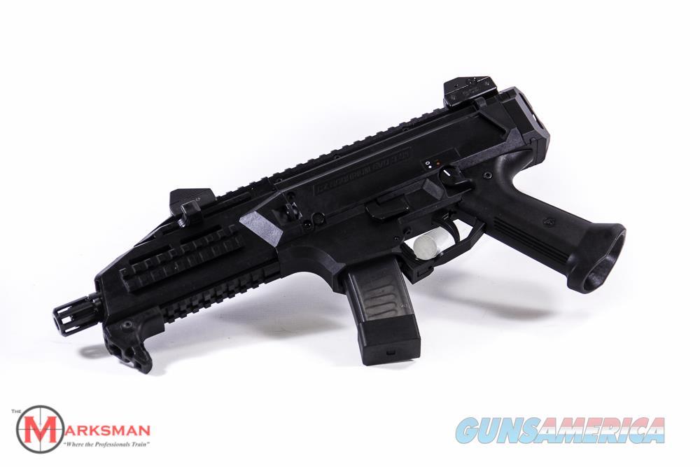"""CZ Scorpion Evo 3 S1 Pistol 9mm NEW 91351 1/2"""" x 28 TPI  Guns > Pistols > CZ Pistols"""