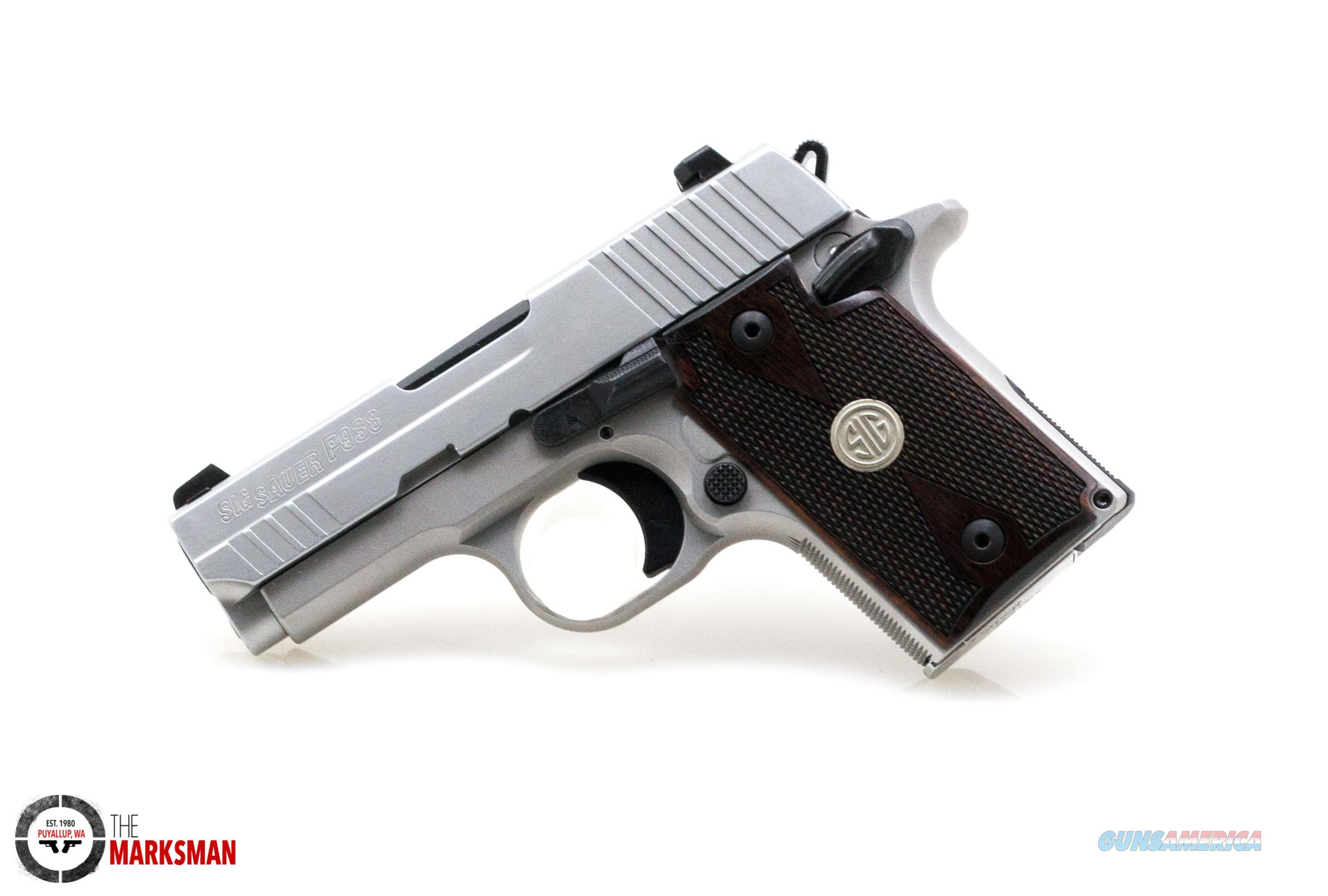 Sig Sauer P938 ASE, 9mm   Guns > Pistols > Sig - Sauer/Sigarms Pistols > P938