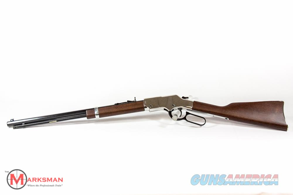 Henry Silver Rifle .22 lr NEW H004S  Guns > Rifles > Henry Rifle Company