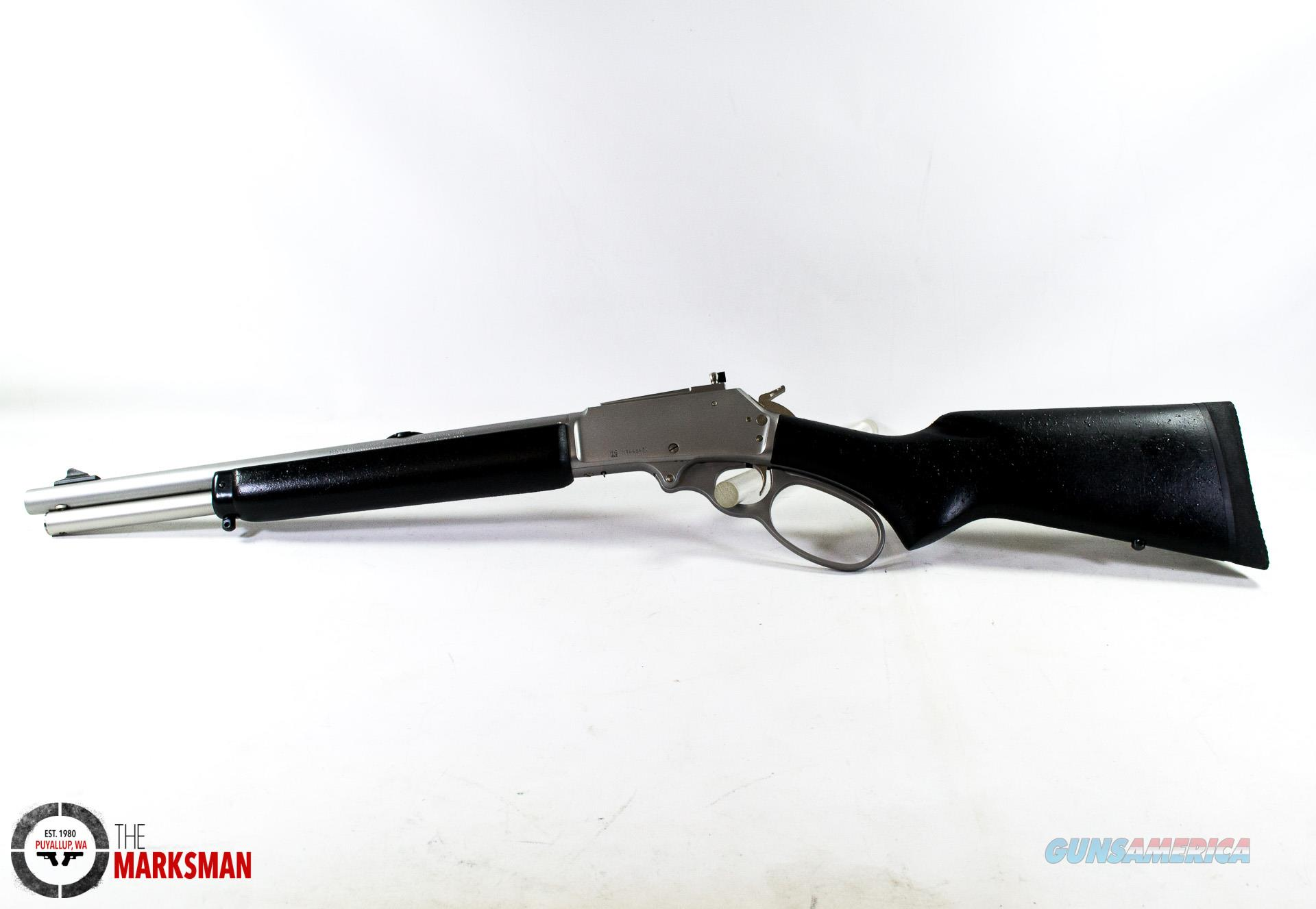 Marlin 1895 Trapper, .45-70 Government, NEW Big Loop Lever  Guns > Rifles > Marlin Rifles > Modern > Lever Action