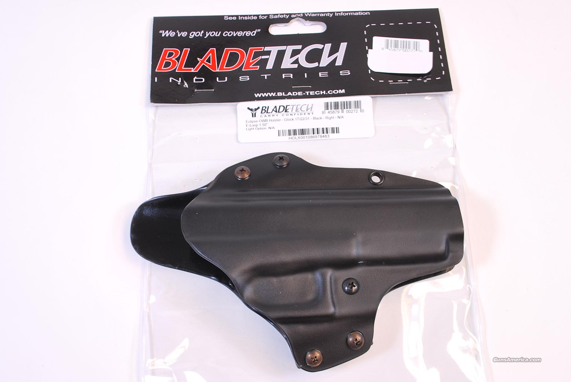 Blade Tech Outside the Waist Holster Glock 17 22 31 NEW  Non-Guns > Holsters and Gunleather > Concealed Carry