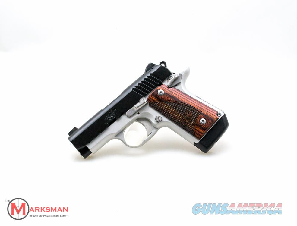 Kimber Micro 9 Two Tone, 9mm, Extended Magazine NEW Free Shipping  Guns > Pistols > Kimber of America Pistols > Micro 9