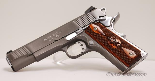 Springfield Stainless Steel Loaded 1911, .45 ACP  Guns > Pistols > Springfield Armory Pistols > 1911 Type