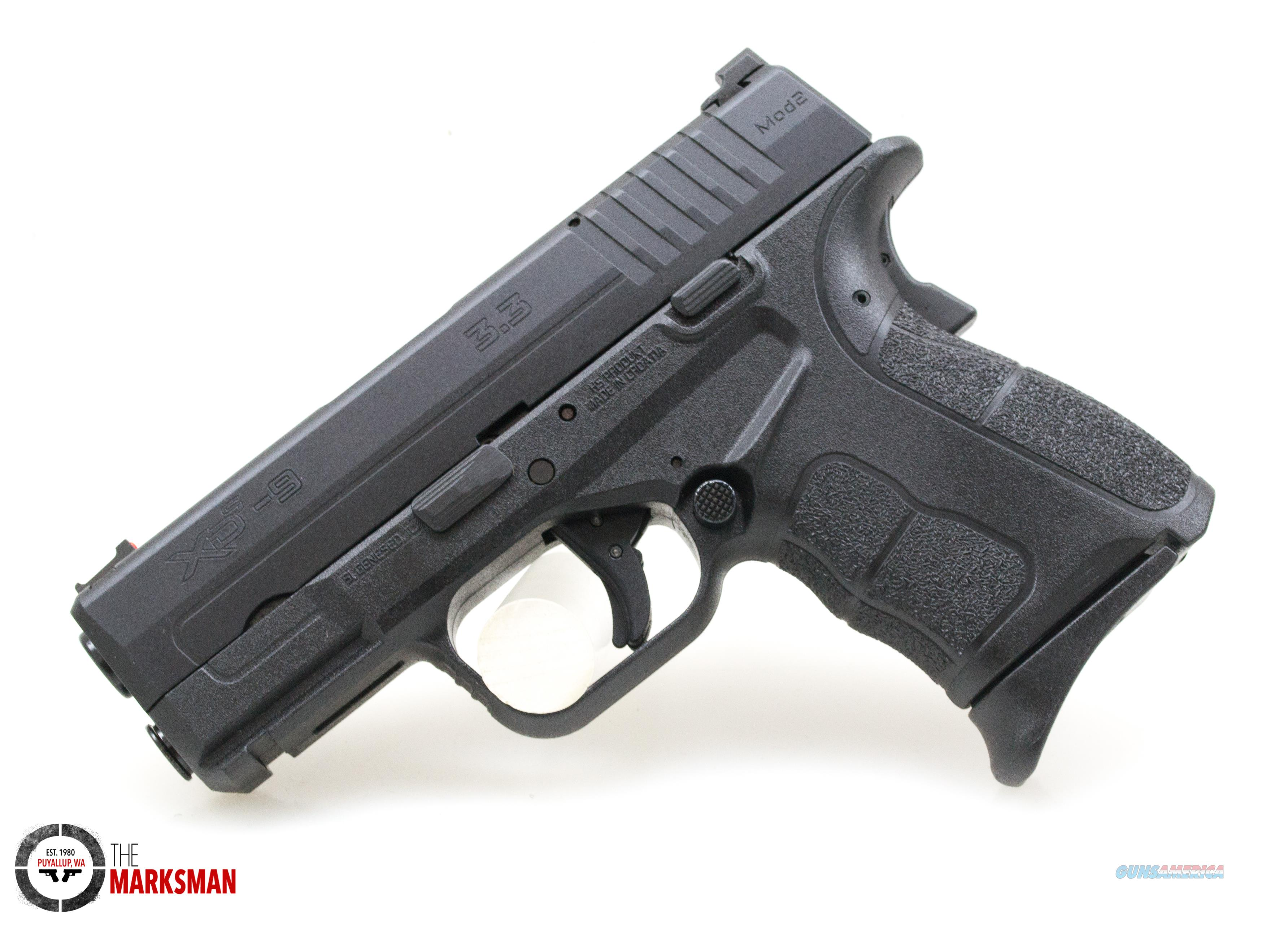 Springfield XDS Mod. 2 9mm New  Guns > Pistols > Springfield Armory Pistols > XD-S