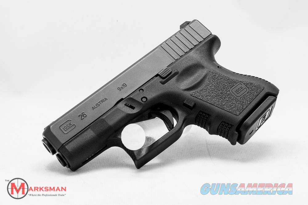 Glock 26 Generation 3, 9mm NEW PI2650201  Guns > Pistols > Glock Pistols > 26/27