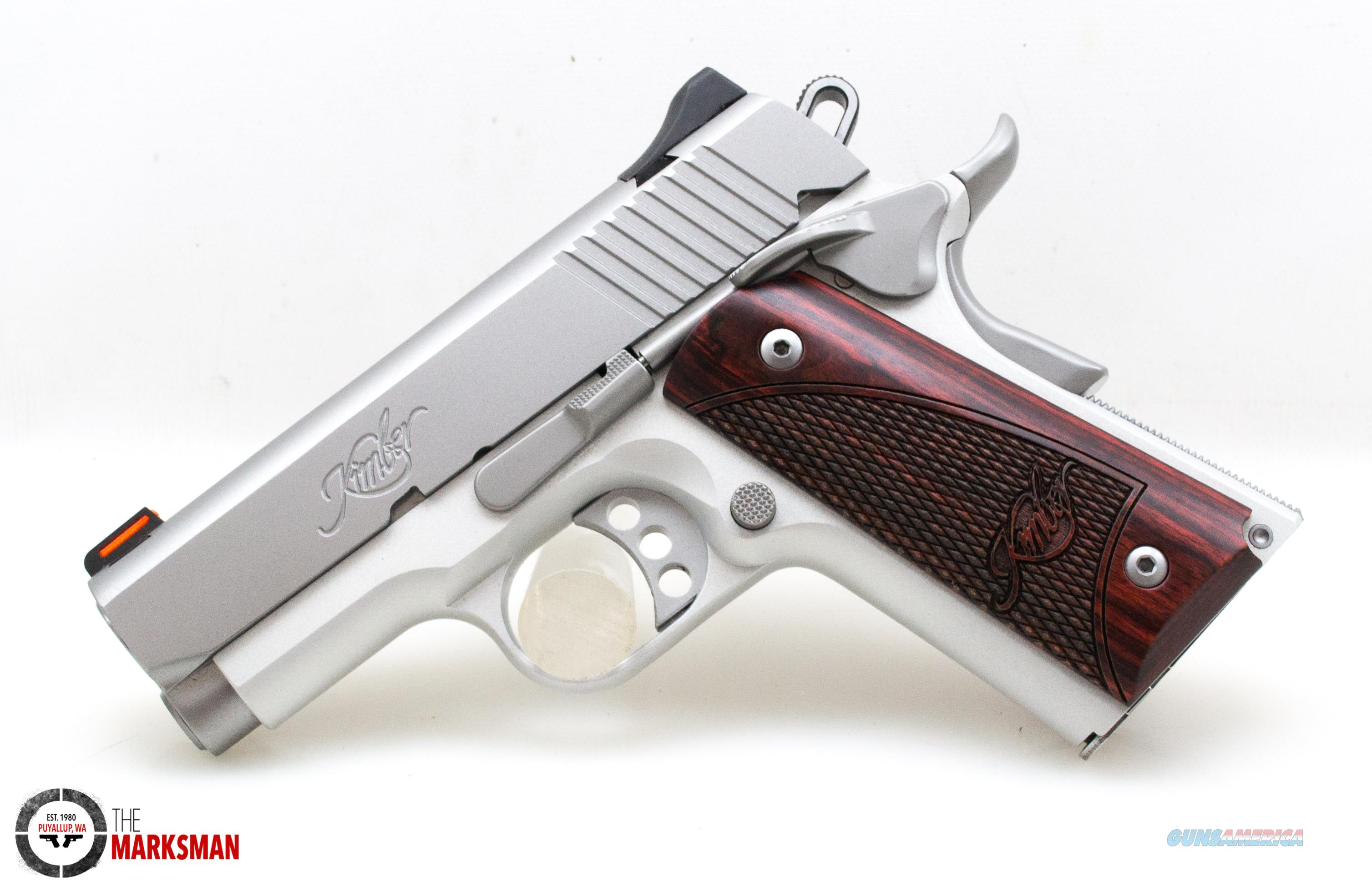 Kimber Stainless Ultra Carry II, 9mm NEW Free Shipping  Guns > Pistols > Kimber of America Pistols > 1911