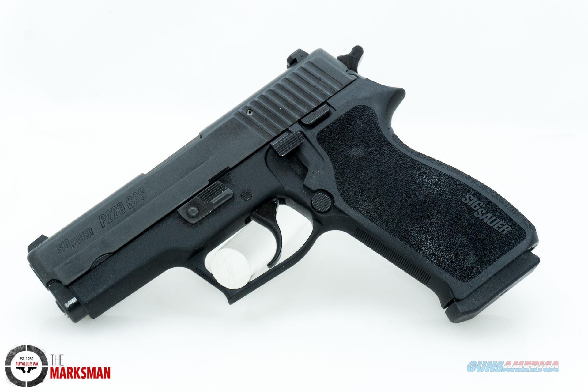 Sig Sauer P220 SAS Gen 2 Carry .45 ACP NEW  Guns > Pistols > Sig - Sauer/Sigarms Pistols > P220
