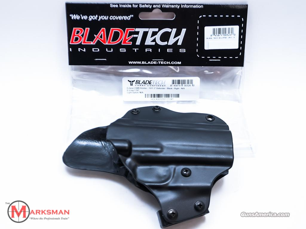 Blade-Tech Eclipse Belt Holster 1911 Defender 3 inch NEW  Non-Guns > Holsters and Gunleather > Concealed Carry