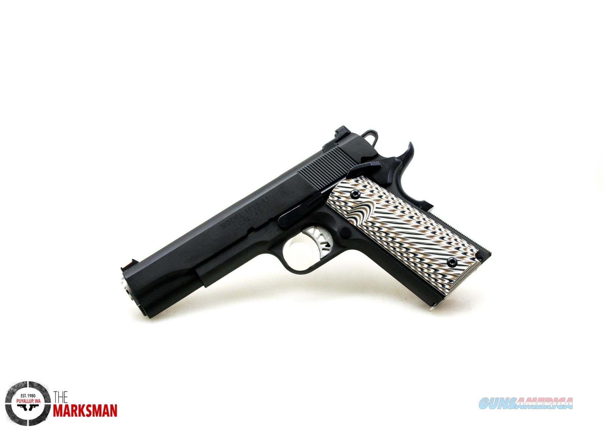 Springfield Armory Custom 1911, .45 ACP NEW   Guns > Pistols > Springfield Armory Pistols > 1911 Type