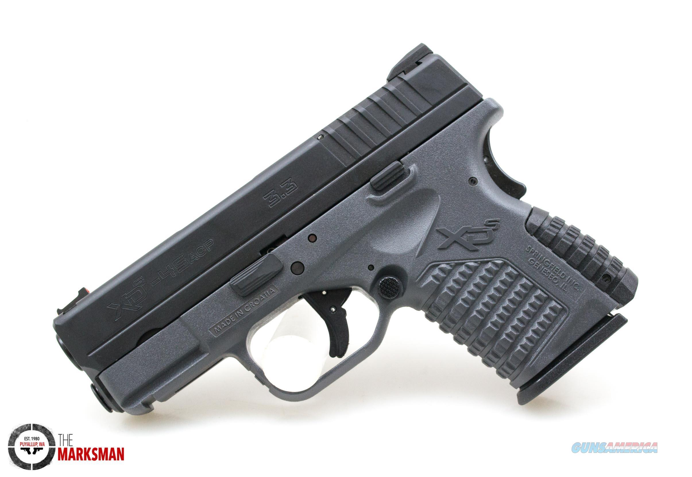 Springfield XDS, .45 ACP, Tactical Grey   Guns > Pistols > Springfield Armory Pistols > XD-S