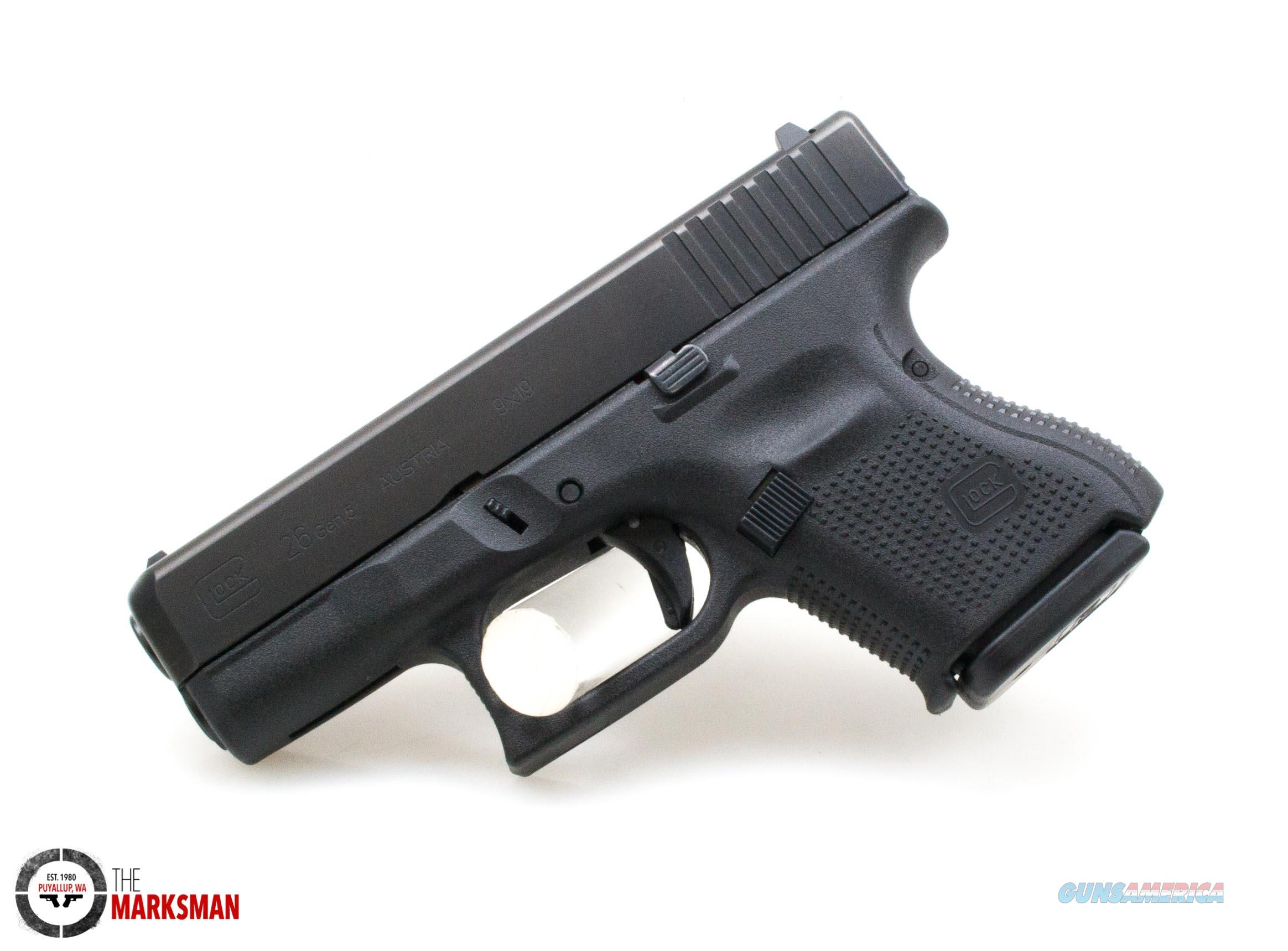 Glock 26 Generation 5, 9mm NEW  Guns > Pistols > Glock Pistols > 26/27