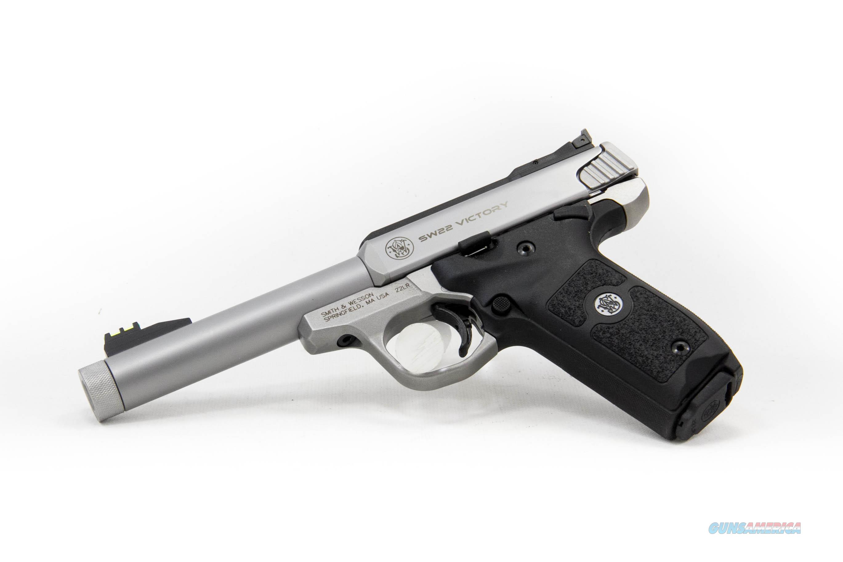 Smith and Wesson SW22 Victory, .22 long rifle, Threaded Barrel  Guns > Pistols > Smith & Wesson Pistols - Autos > .22 Autos